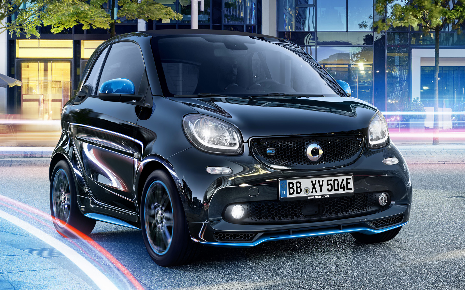 2017 Dodge Ram >> 2018 Smart EQ Fortwo Nightsky Edition - Wallpapers and HD Images | Car Pixel