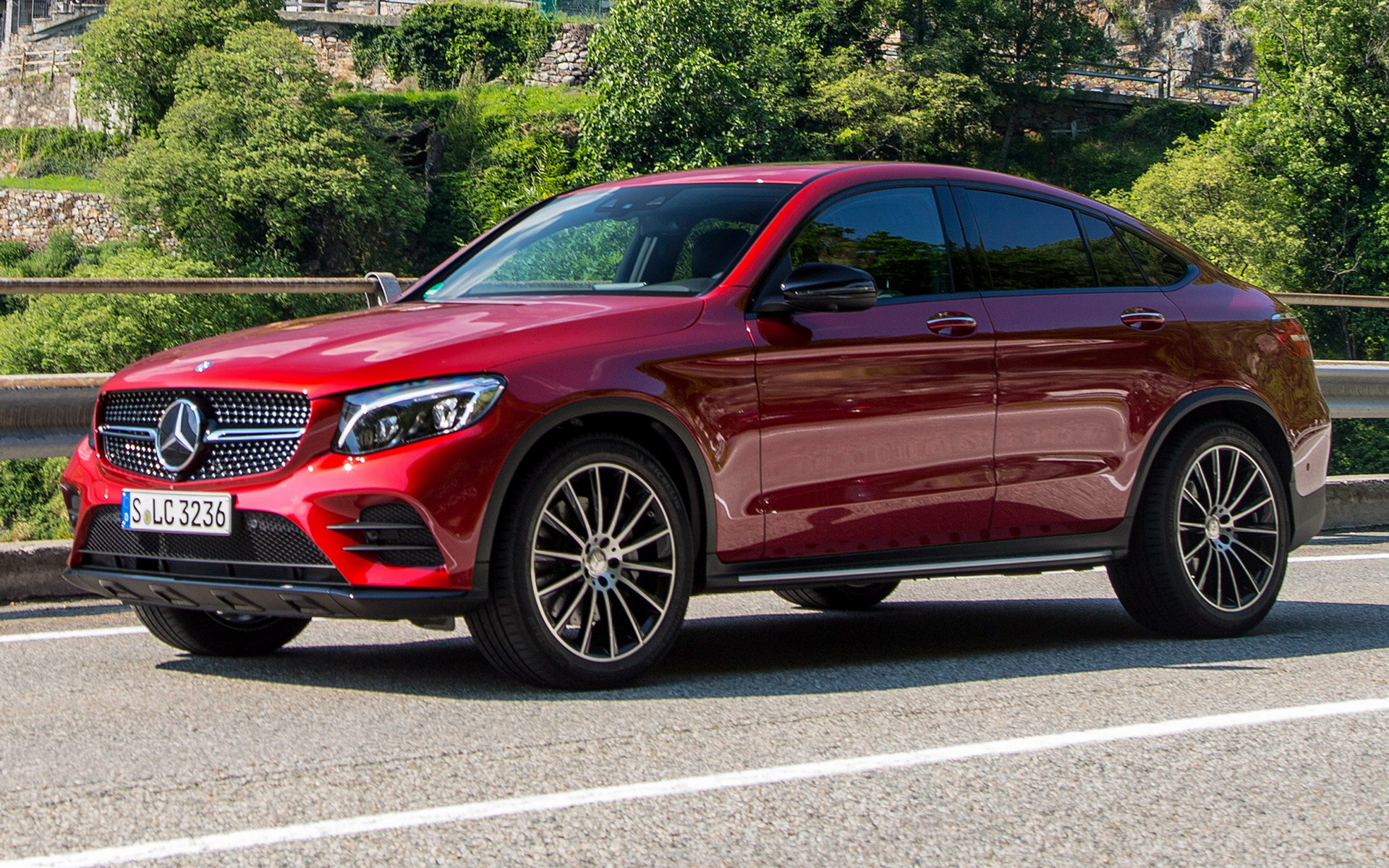 2016 Mercedes-Benz GLC-Class Coupe AMG Line - Wallpapers ...