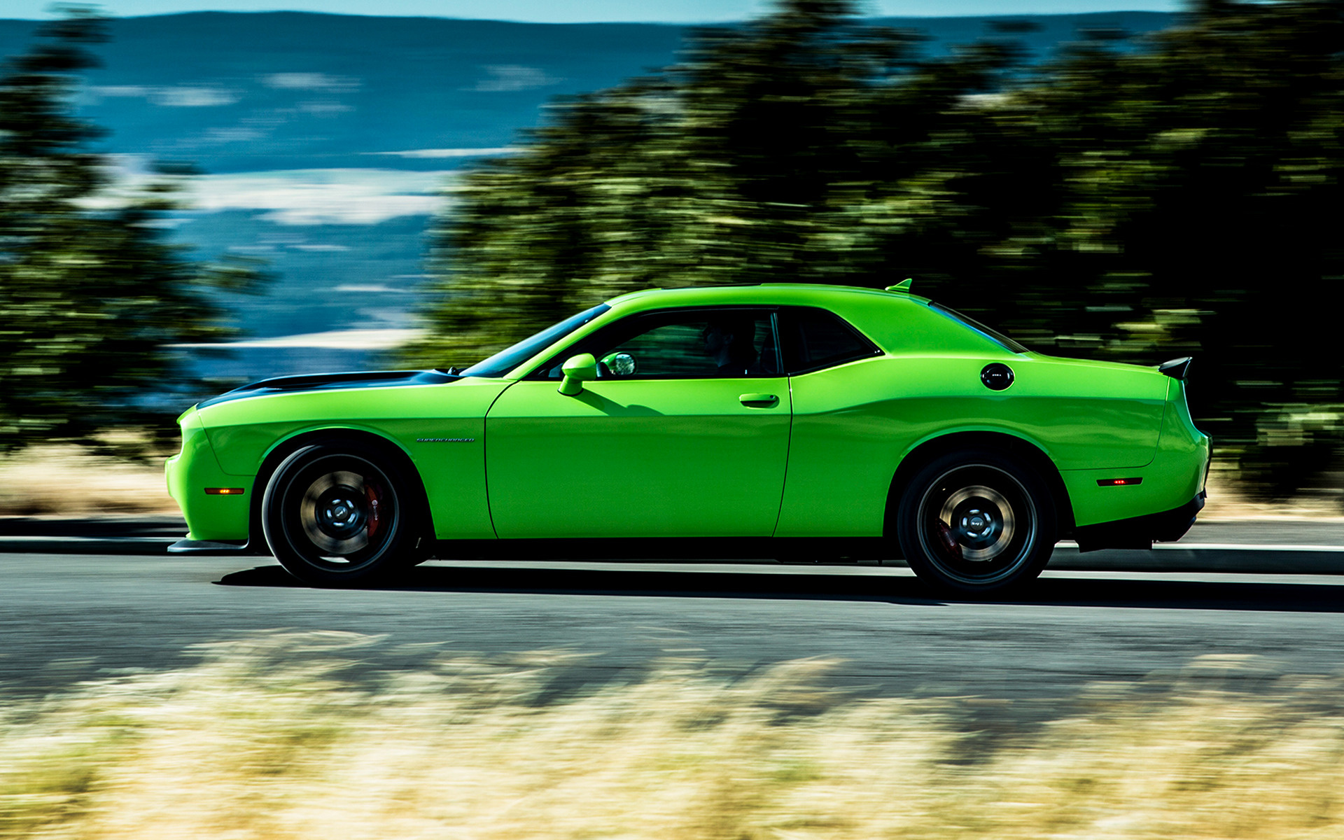 2015 Dodge Challenger Srt Hellcat Wallpapers And Hd Images Car Pixel