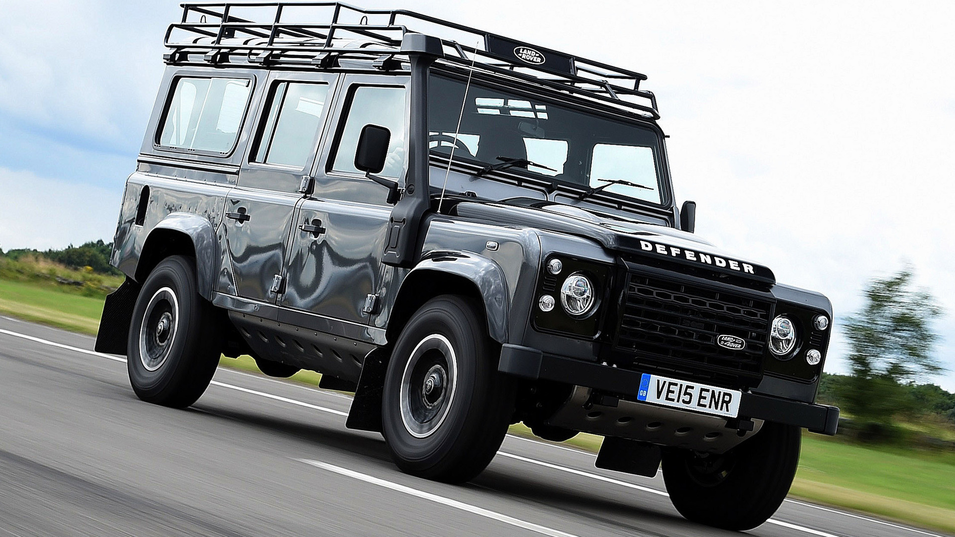 Land Rover Defender 110 Adventure (2015) UK Wallpapers and ...