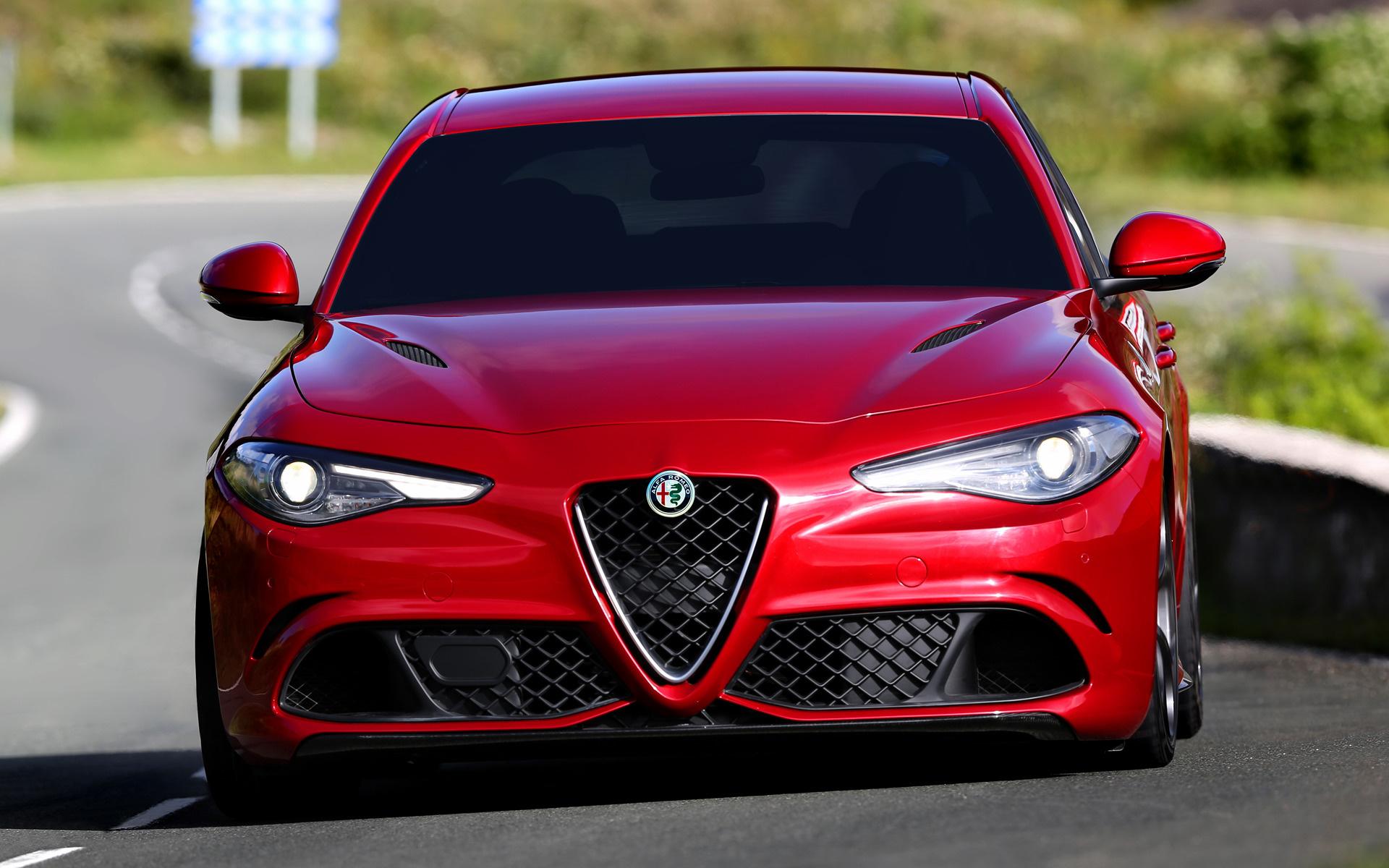 2016 Land Rover >> 2016 Alfa Romeo Giulia Quadrifoglio - Wallpapers and HD Images   Car Pixel