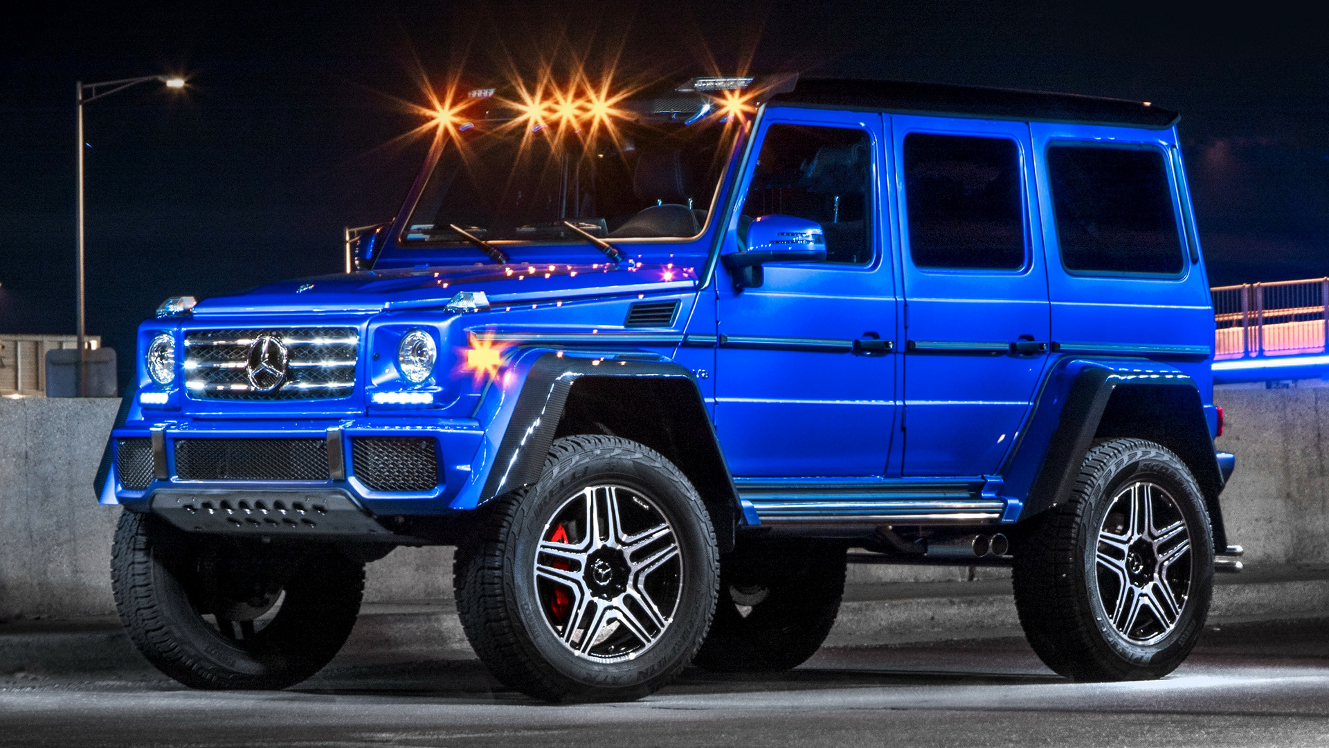 Mercedes Benz G Class 4x4 2017 Us Wallpapers And Hd Images Car