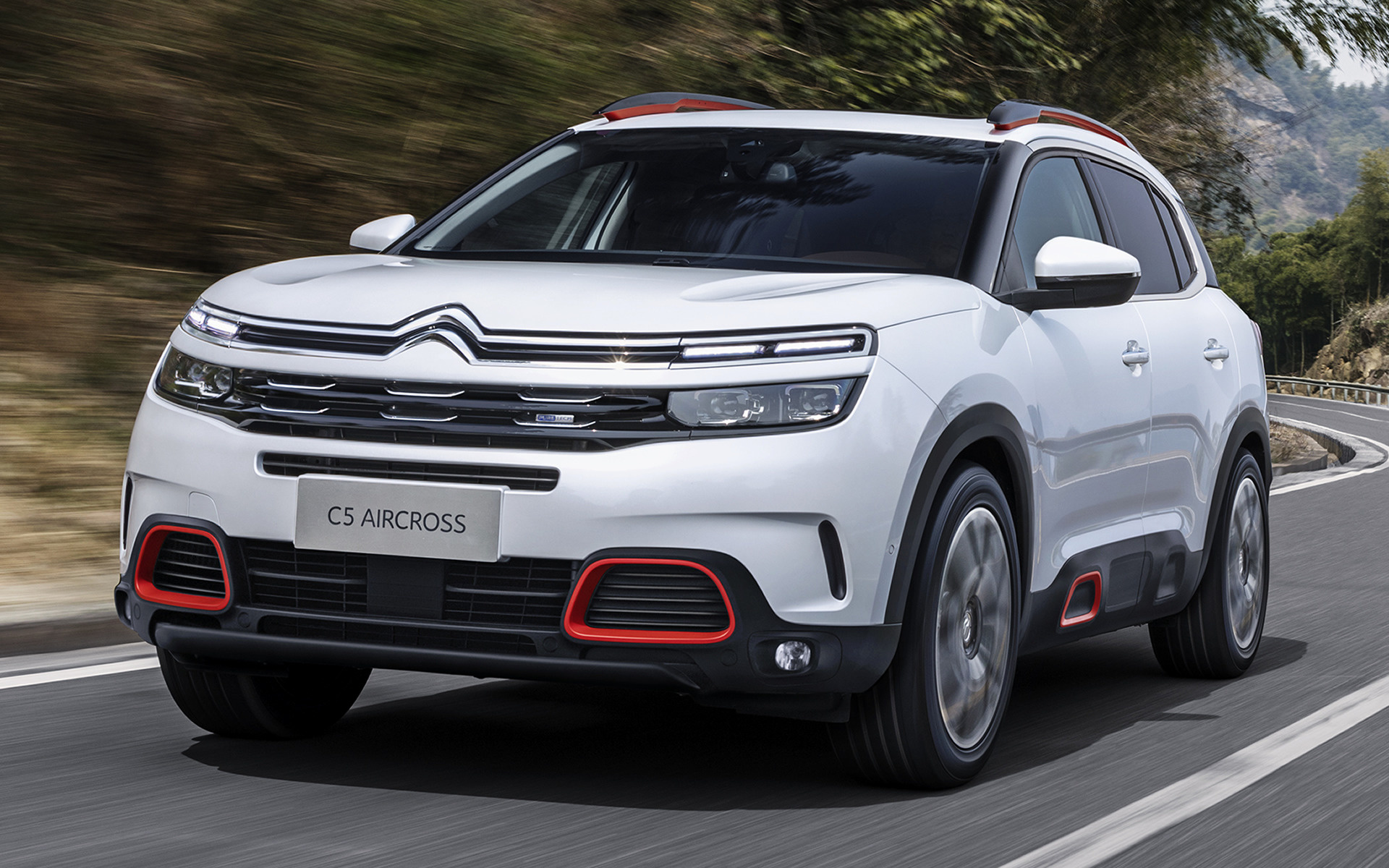 citroen c5 aircross 2017 wallpapers and hd images car pixel. Black Bedroom Furniture Sets. Home Design Ideas