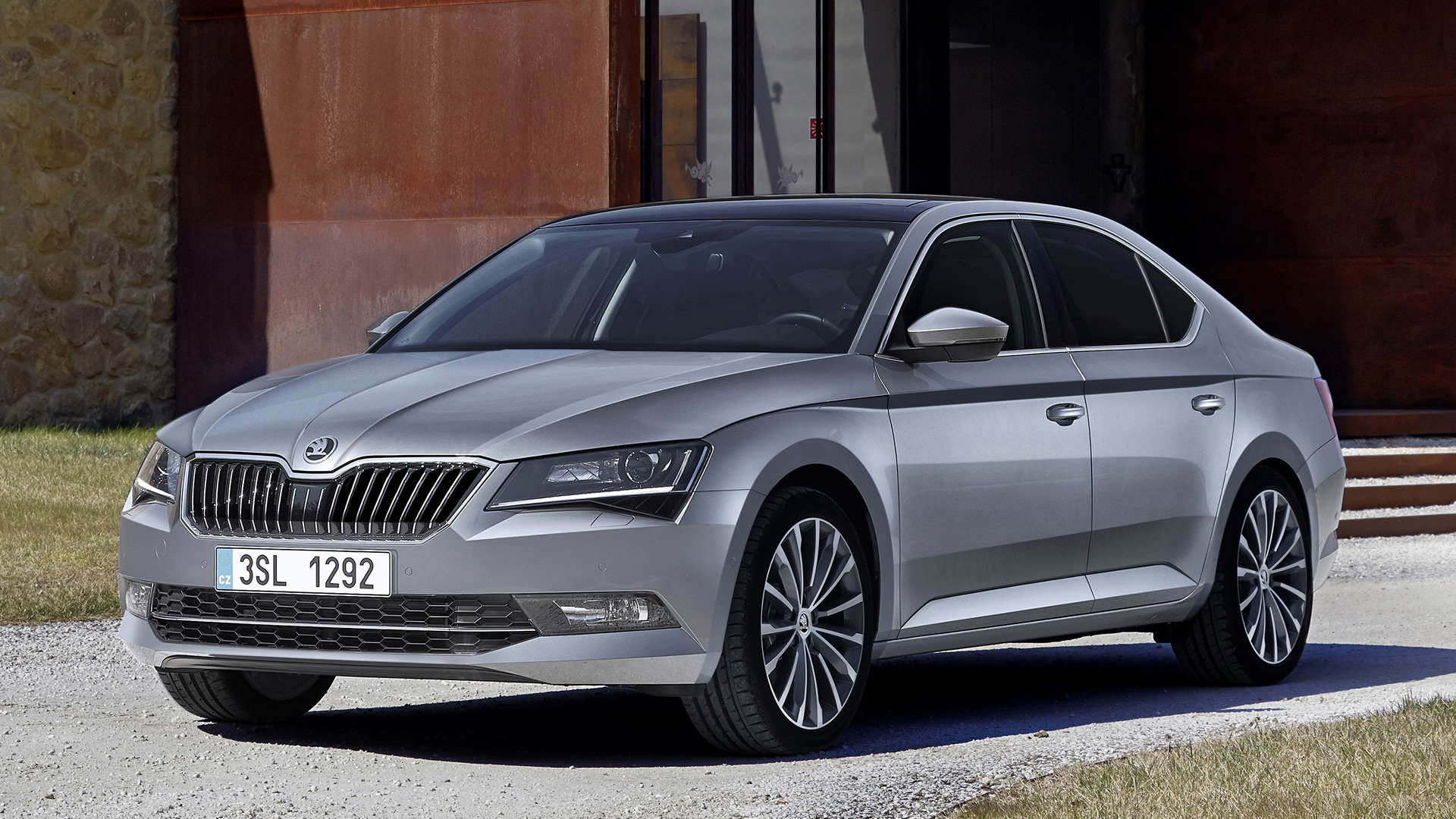 skoda superb 2015 wallpapers and hd images car pixel. Black Bedroom Furniture Sets. Home Design Ideas