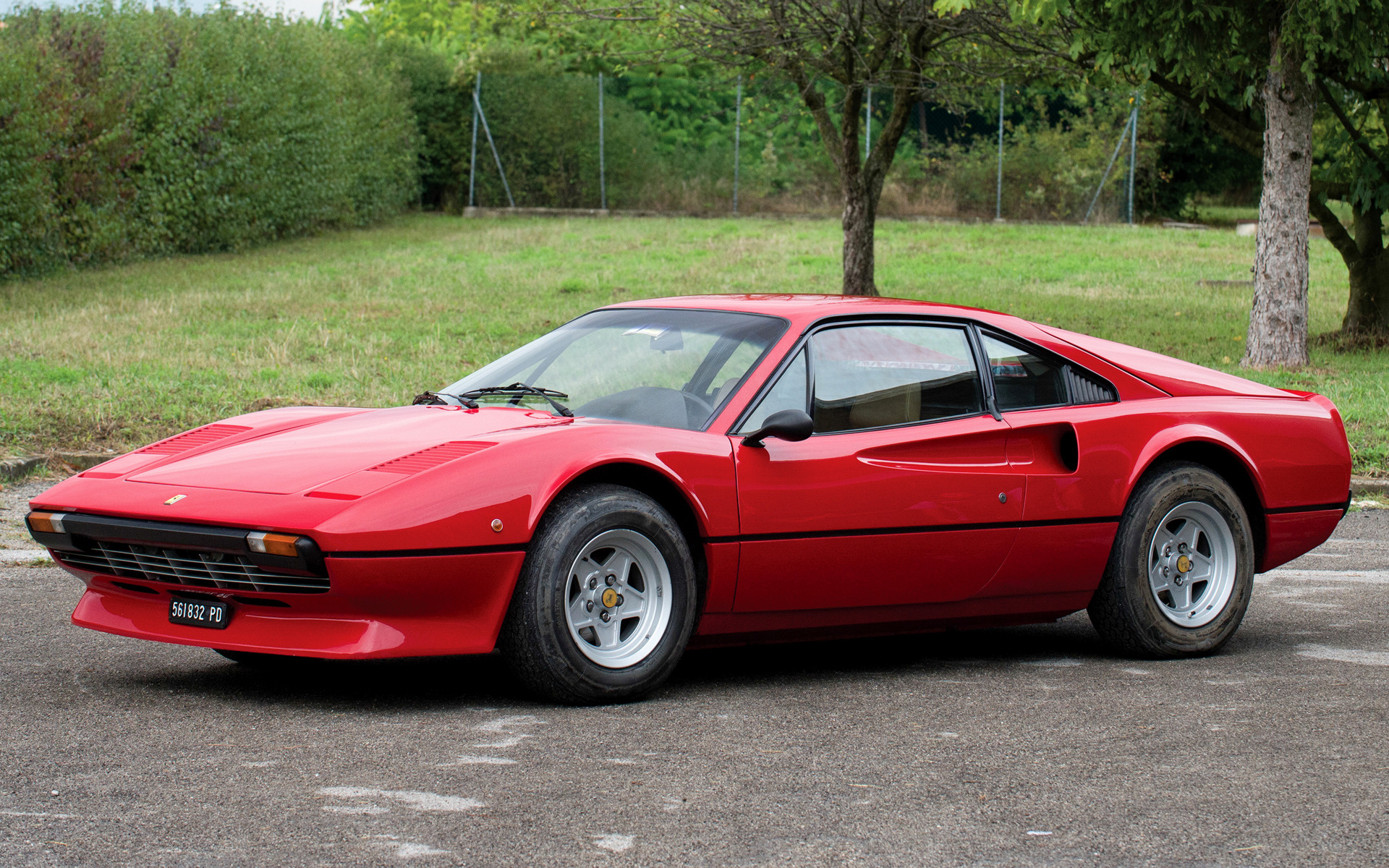 Ferrari 308 Gtb With Front Spoiler 1977 Wallpapers And