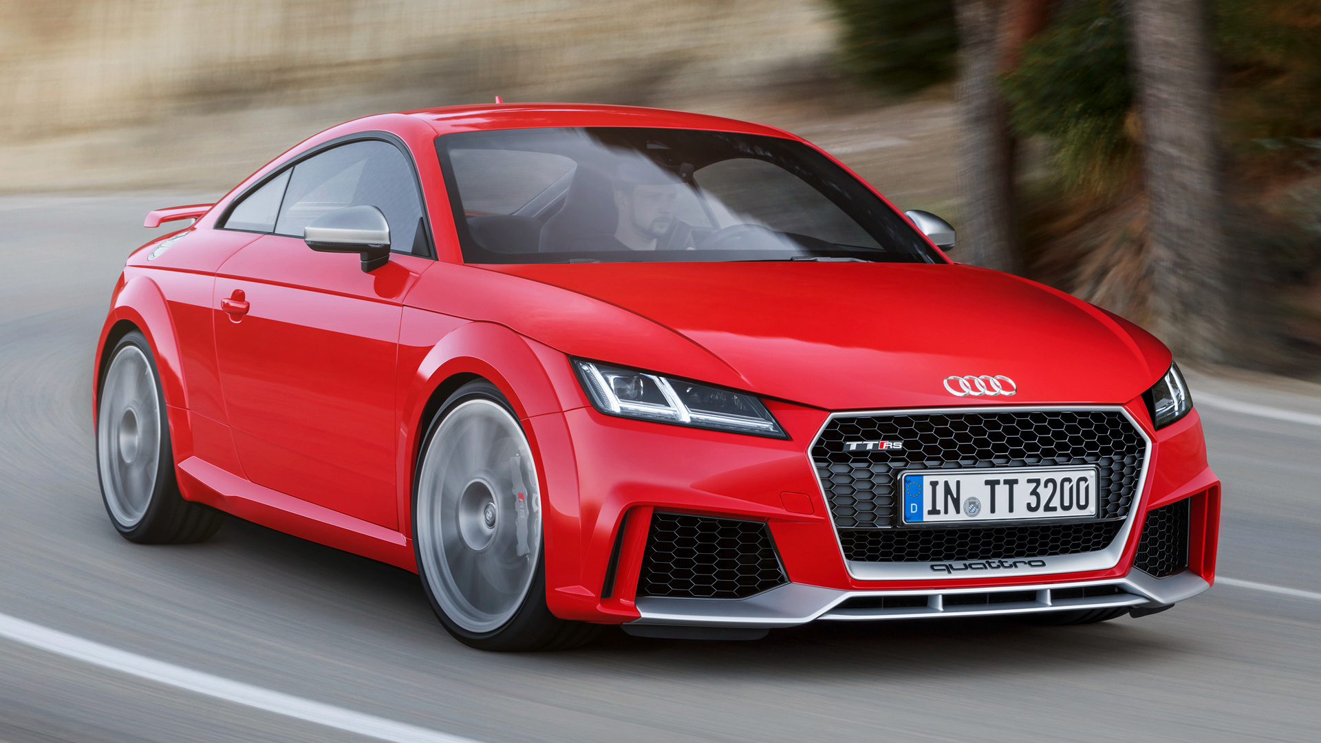 audi tt rs coupe 2016 wallpapers and hd images car pixel. Black Bedroom Furniture Sets. Home Design Ideas