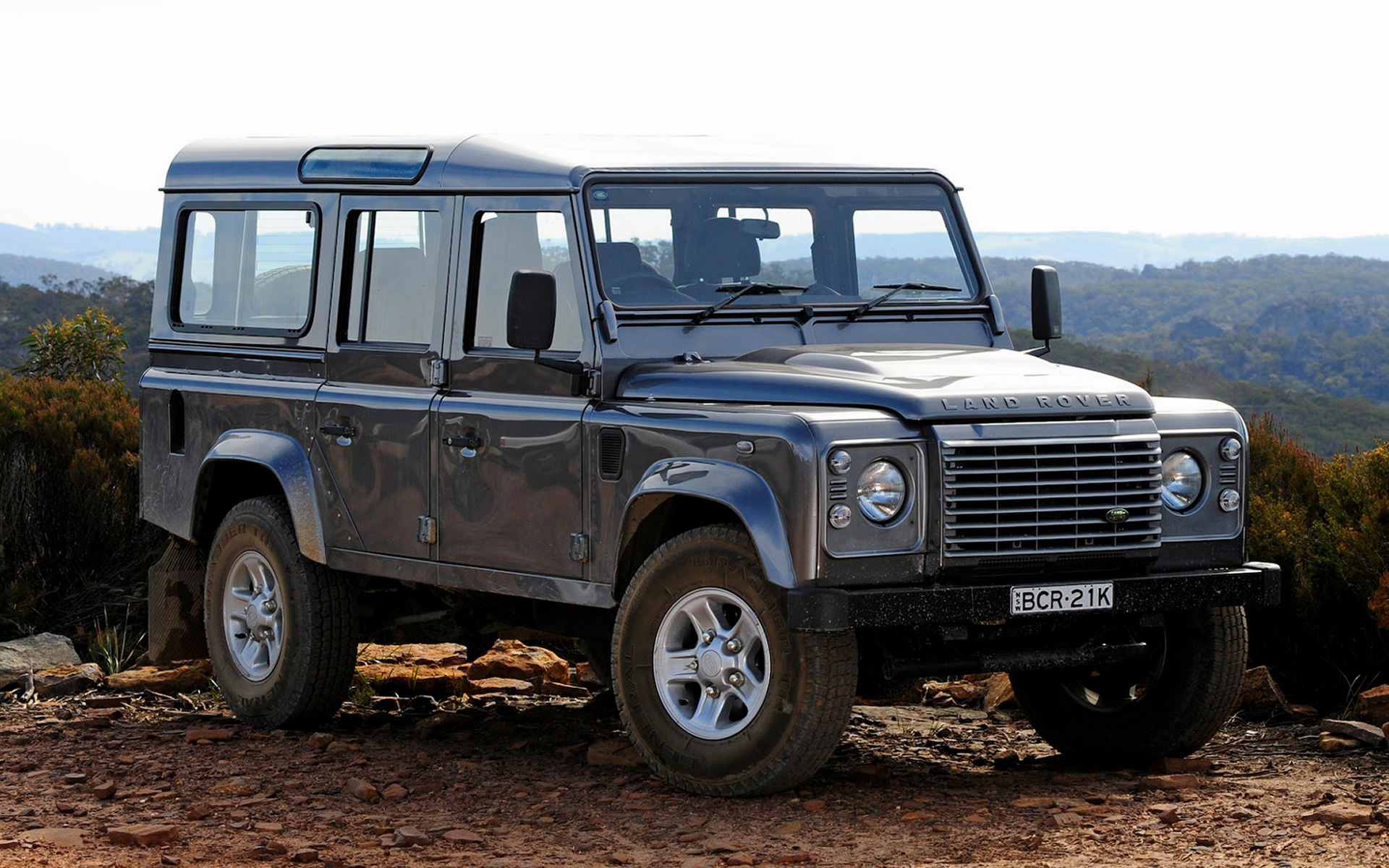 Land Rover Defender 110 >> 2007 Land Rover Defender 110 (AU) - Wallpapers and HD ...