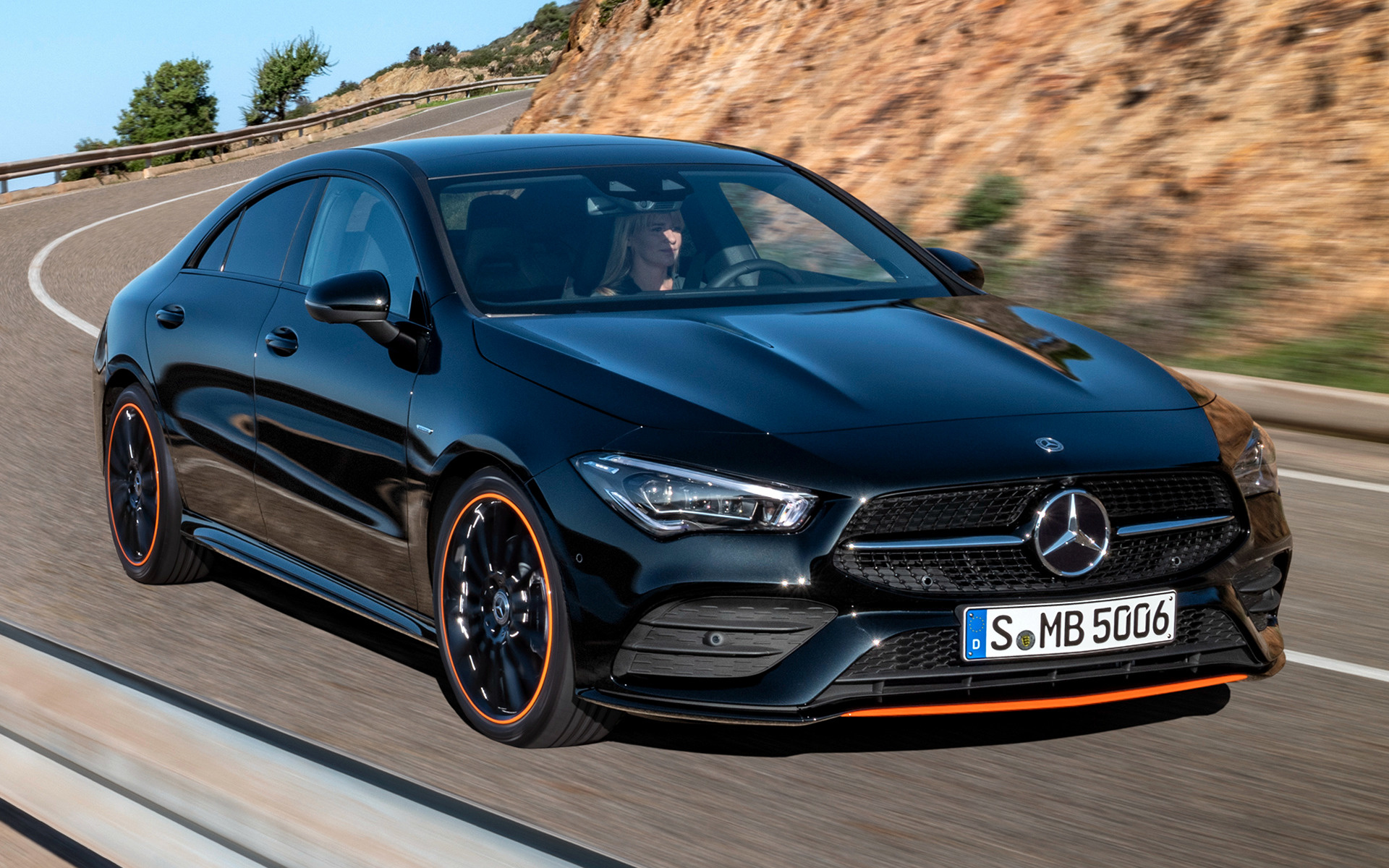 Mercedes Benz Cla >> 2019 Mercedes-Benz CLA-Class OrangeArt Edition - Wallpapers and HD Images | Car Pixel