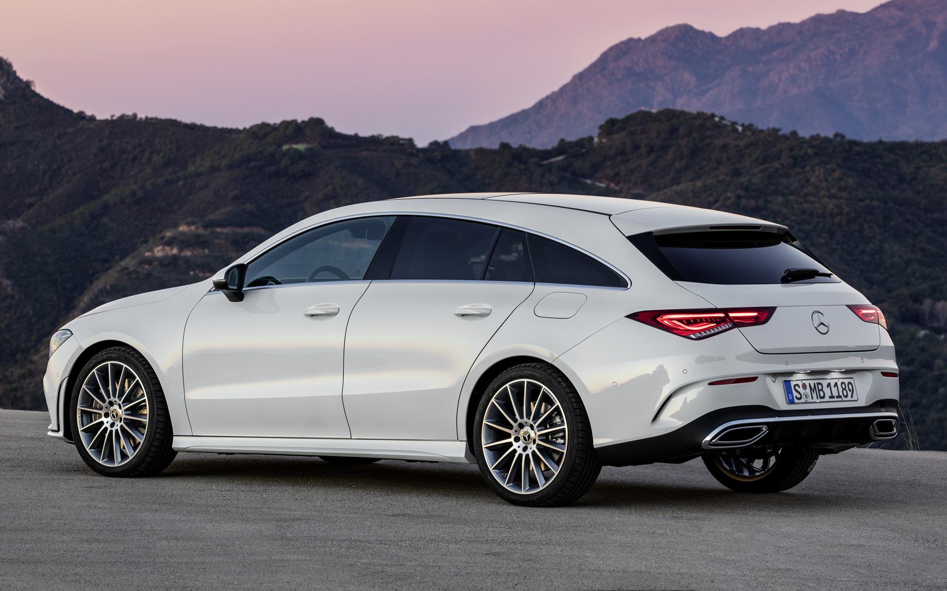 Mercedes Cla 45 Amg >> 2019 Mercedes-Benz CLA-Class Shooting Brake AMG Line ...