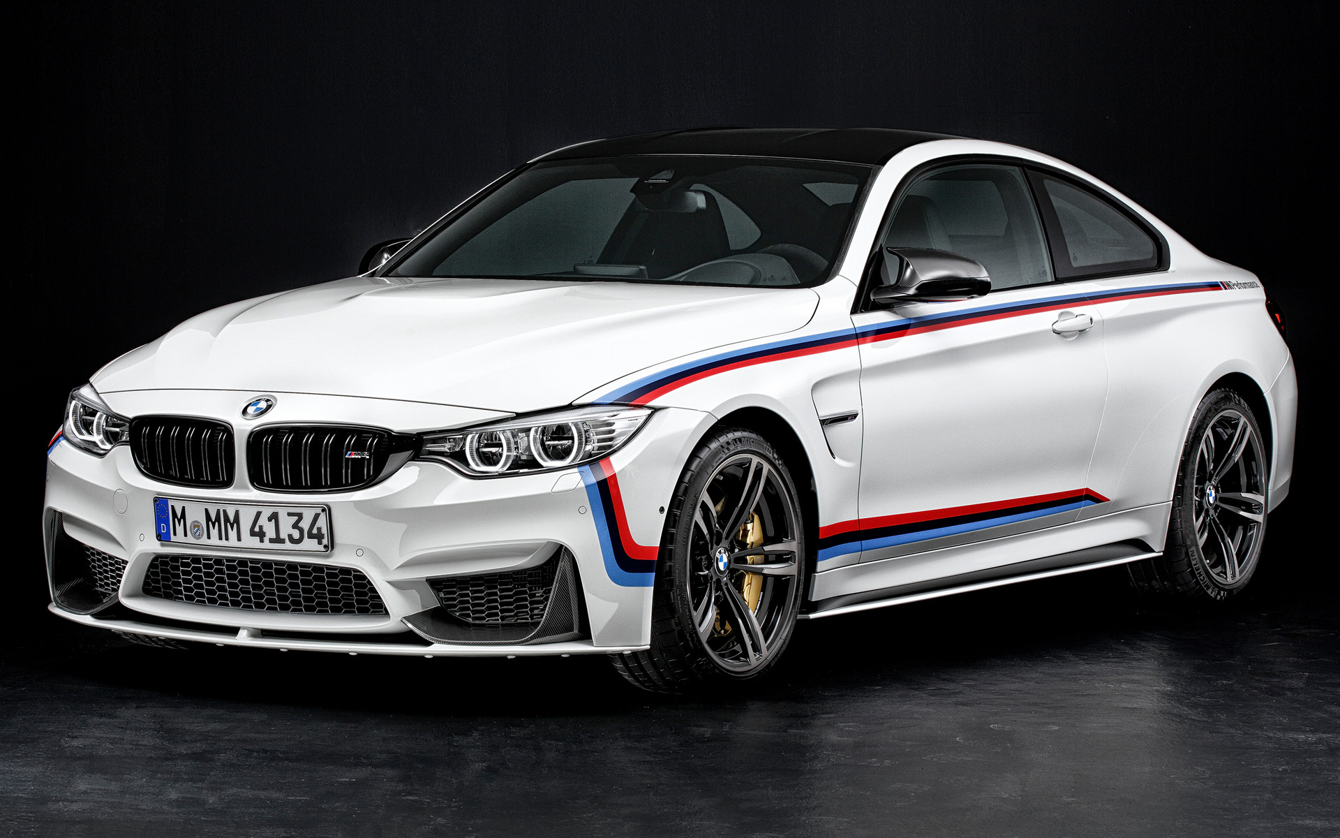 2014 BMW M4 Coupe with M Performance Parts - Wallpapers ...