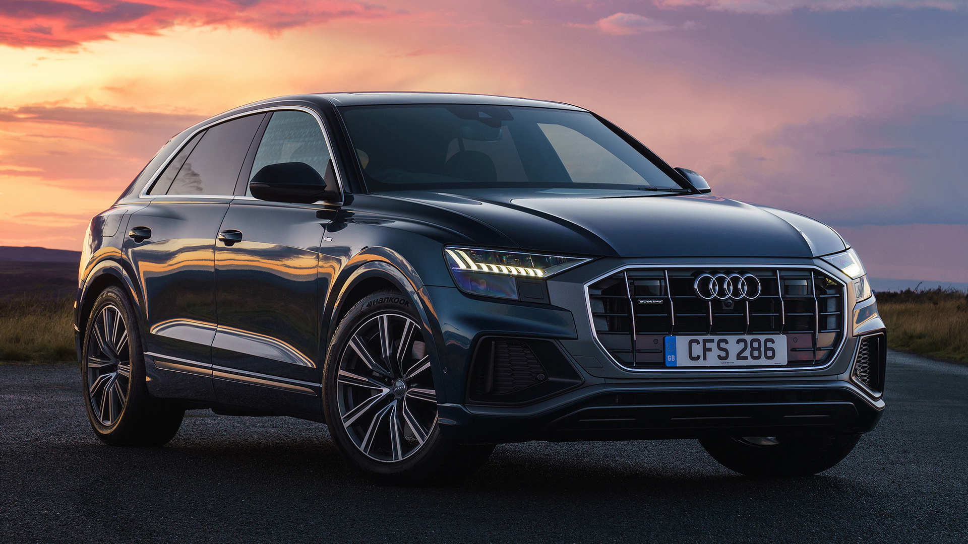 2018 Audi Q8 S Line Uk Wallpapers And Hd Images Car