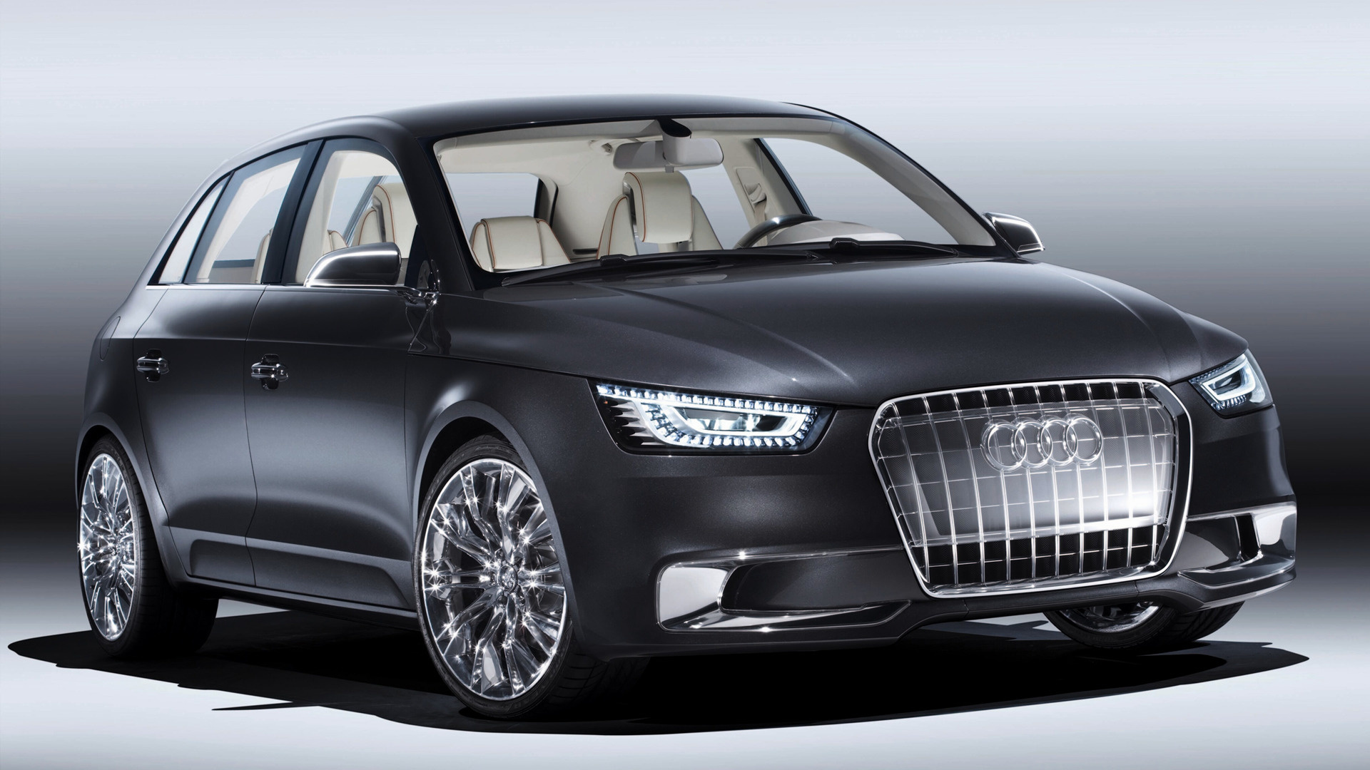 2008 audi a1 sportback concept wallpapers and hd images. Black Bedroom Furniture Sets. Home Design Ideas