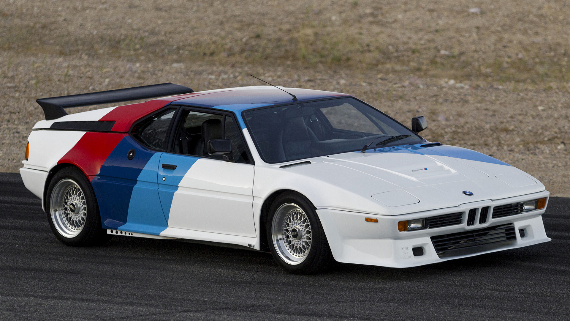 1979 bmw m1 procar by ahg wallpapers and hd images car. Black Bedroom Furniture Sets. Home Design Ideas