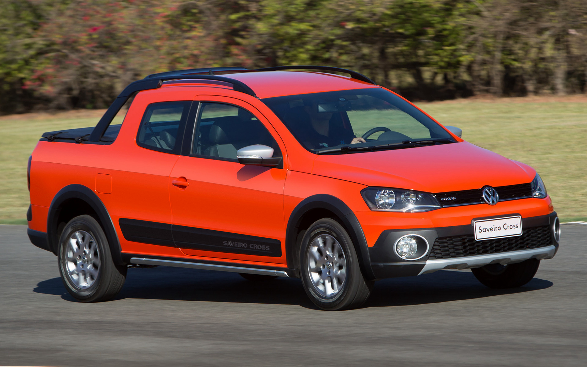 Cross Chrysler Jeep >> 2014 Volkswagen Saveiro Cross CD - Wallpapers and HD Images | Car Pixel