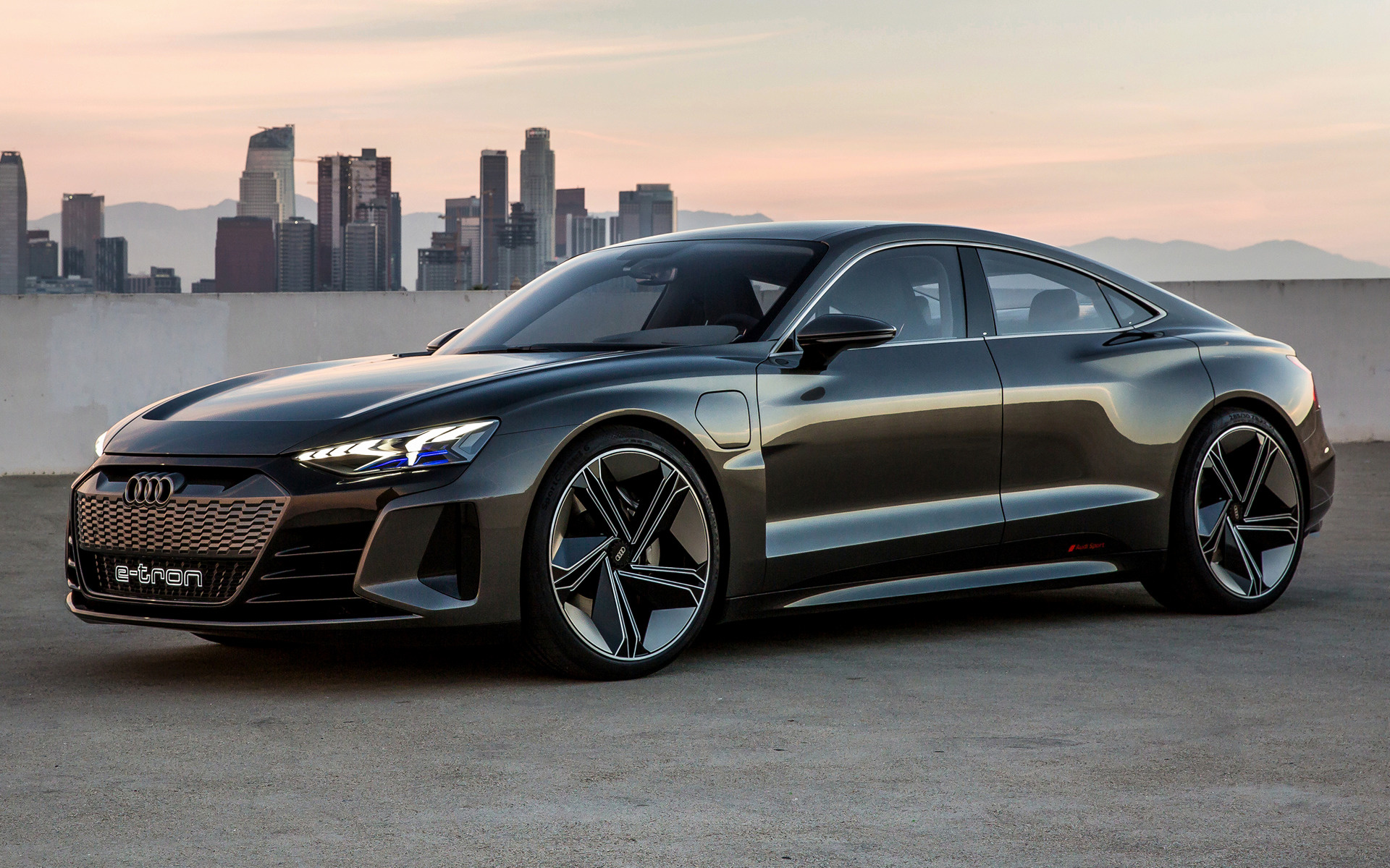 2018 Audi E-Tron GT concept - Wallpapers and HD Images