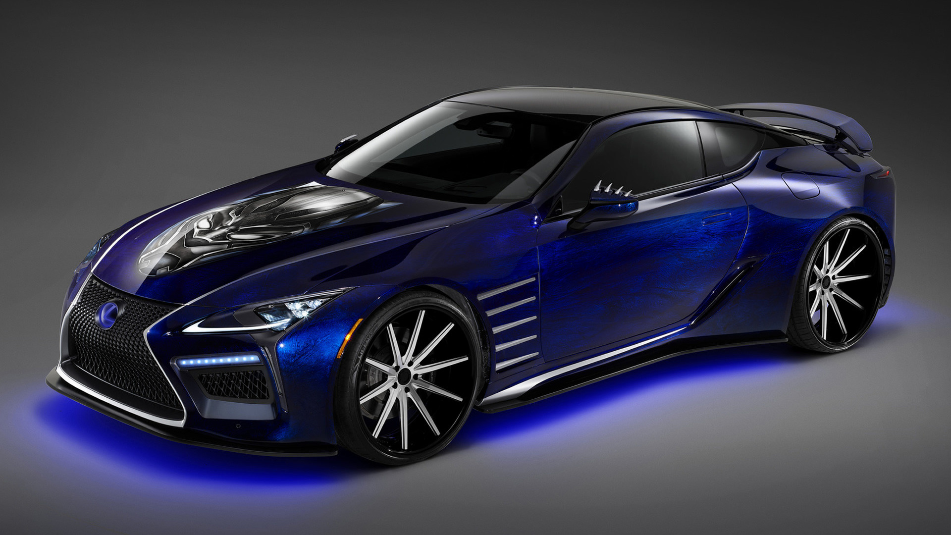 2017 Lexus Lc Inspired By Black Panther Fondos De Pantalla