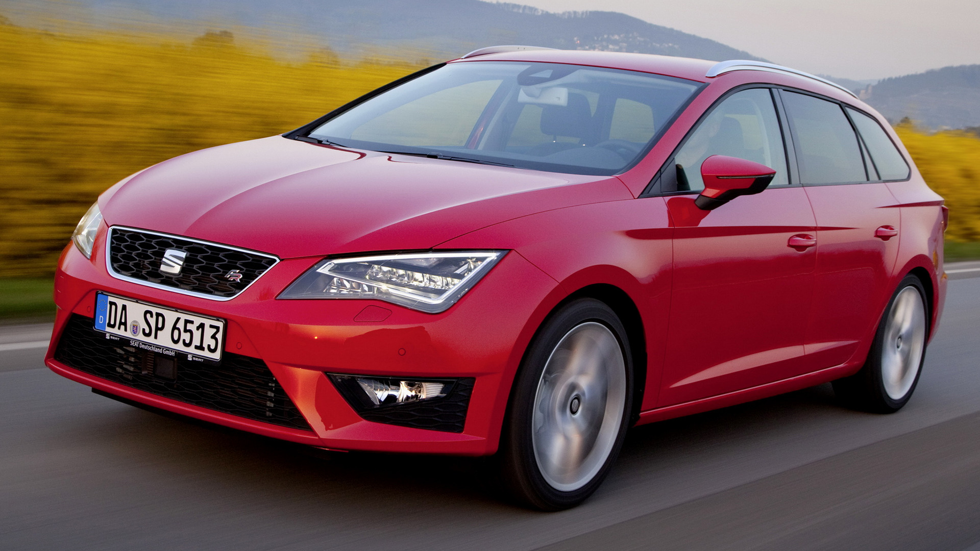 seat leon st fr 2013 wallpapers and hd images car pixel. Black Bedroom Furniture Sets. Home Design Ideas