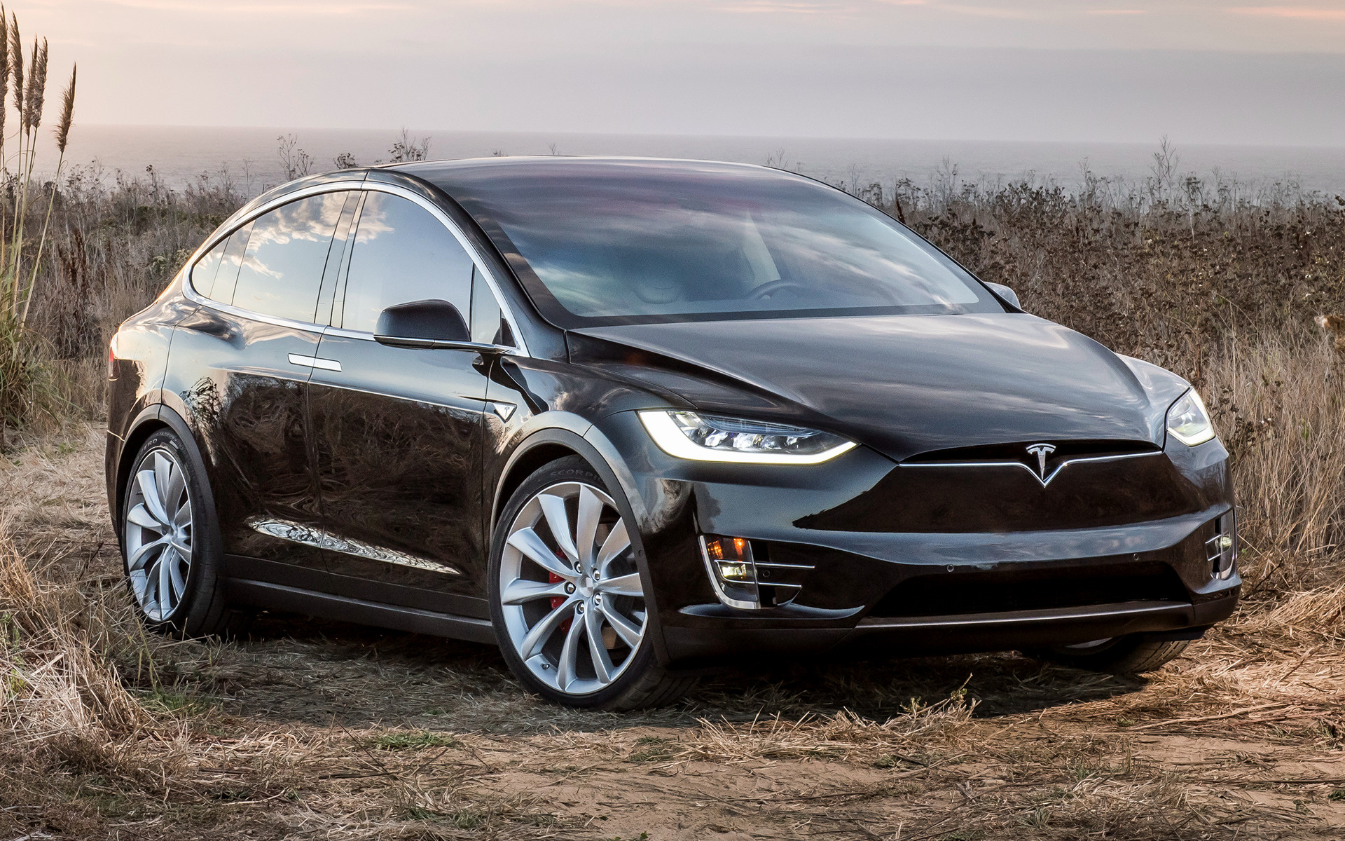 2015 tesla model x p90d wallpapers and hd images car pixel. Black Bedroom Furniture Sets. Home Design Ideas