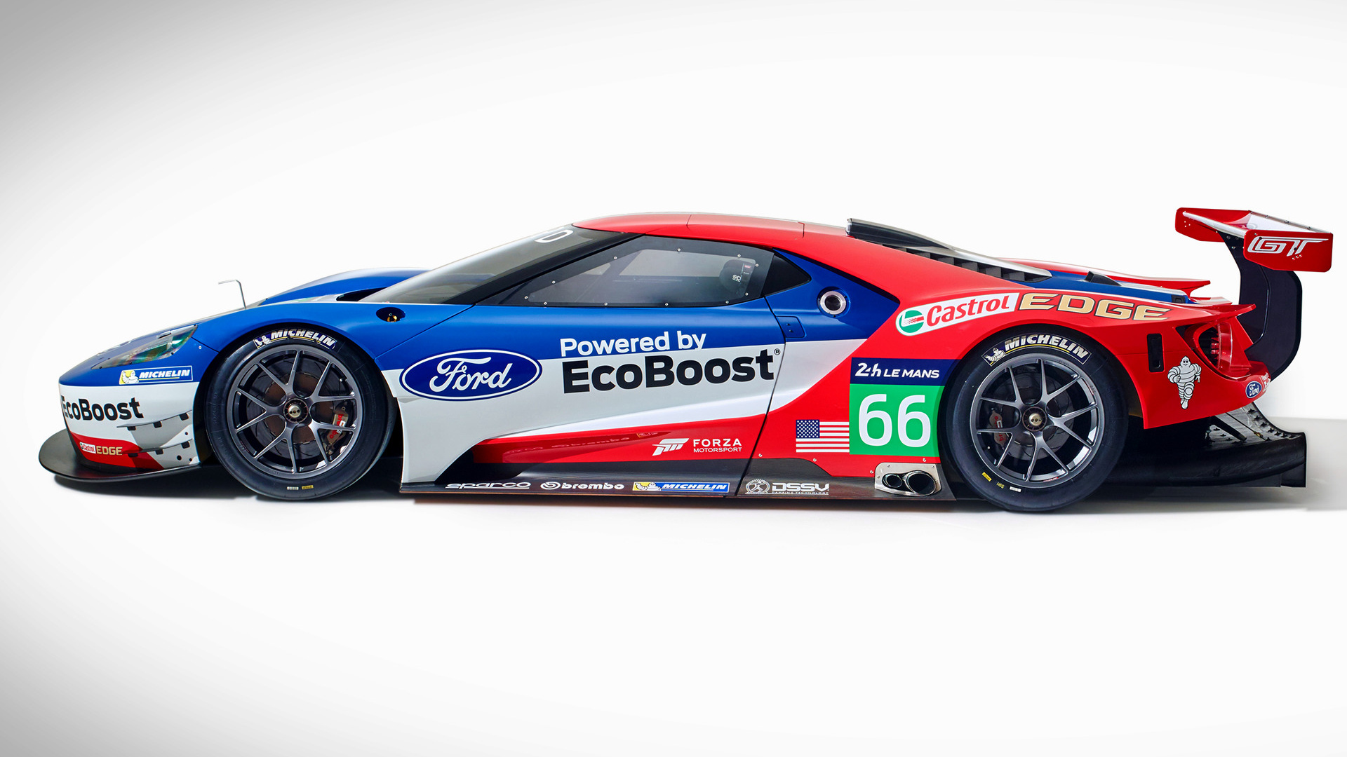 Heritage Volkswagen Subaru >> 2016 Ford GT Race Car - Wallpapers and HD Images | Car Pixel