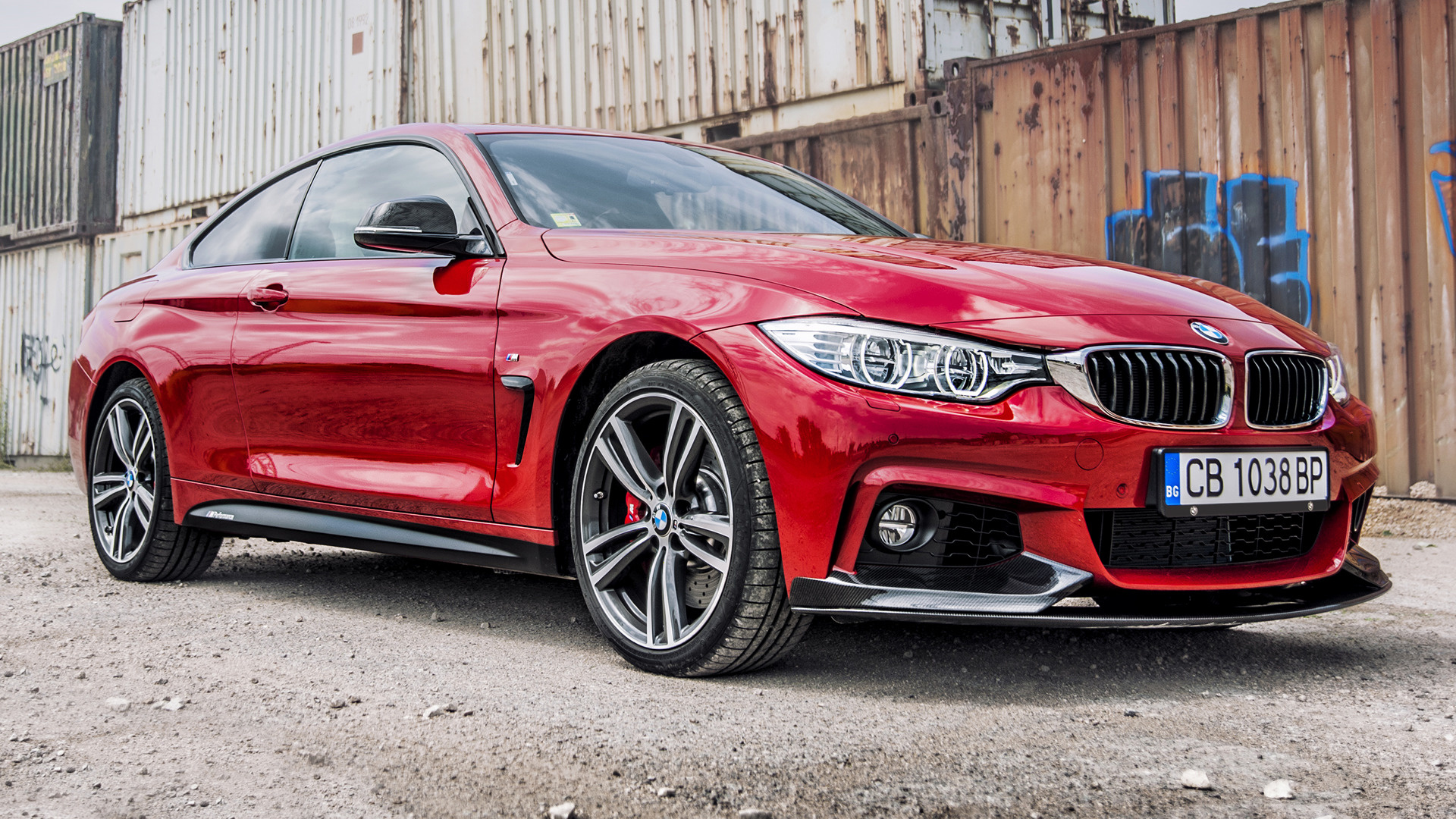 BMW 4 Series Coupe M Performance Red Edition (2016 ...