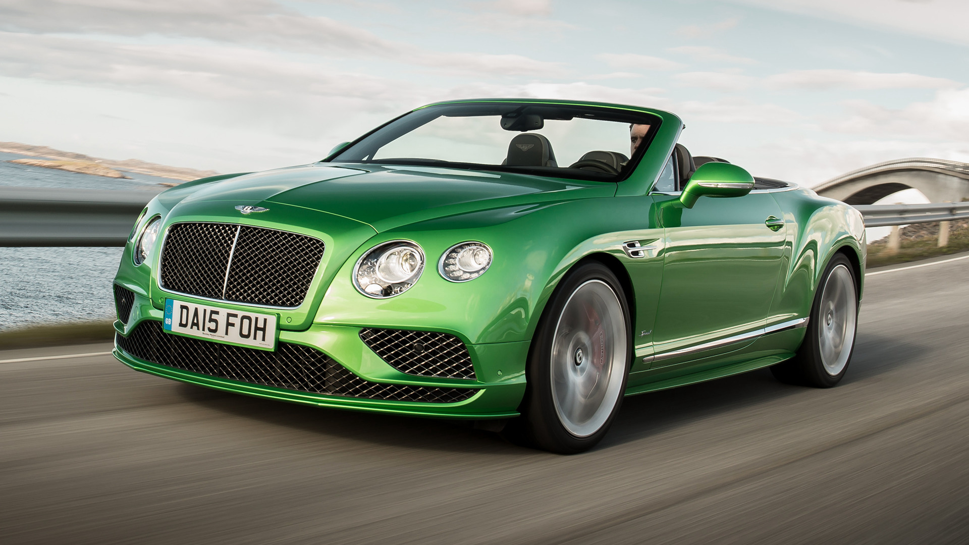 Bentley Continental GT Speed Convertible 2015 Wallpapers and HD