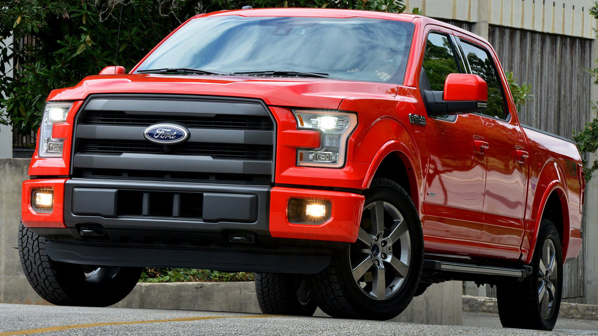 Ford F-150 Lariat FX4 SuperCrew (2015) Wallpapers and HD Images - Car Pixel