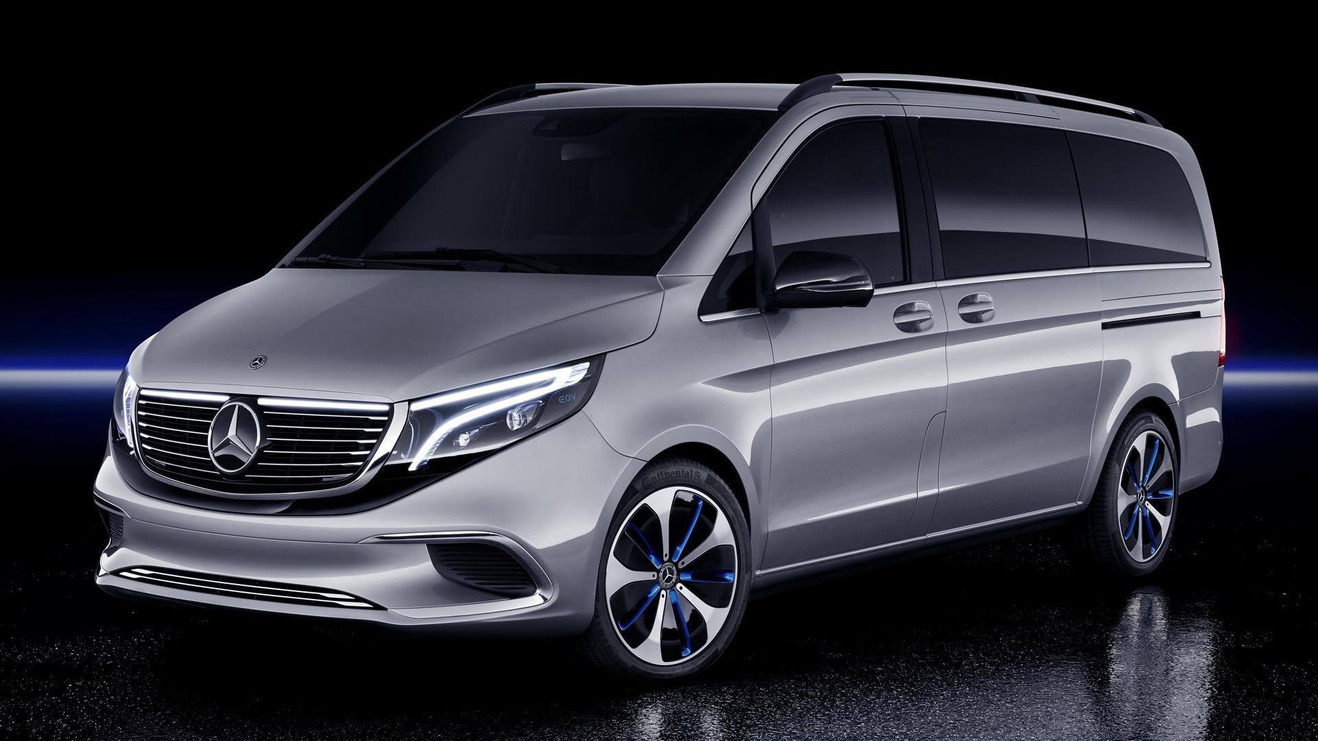 2019 Mercedes-Benz Concept EQV
