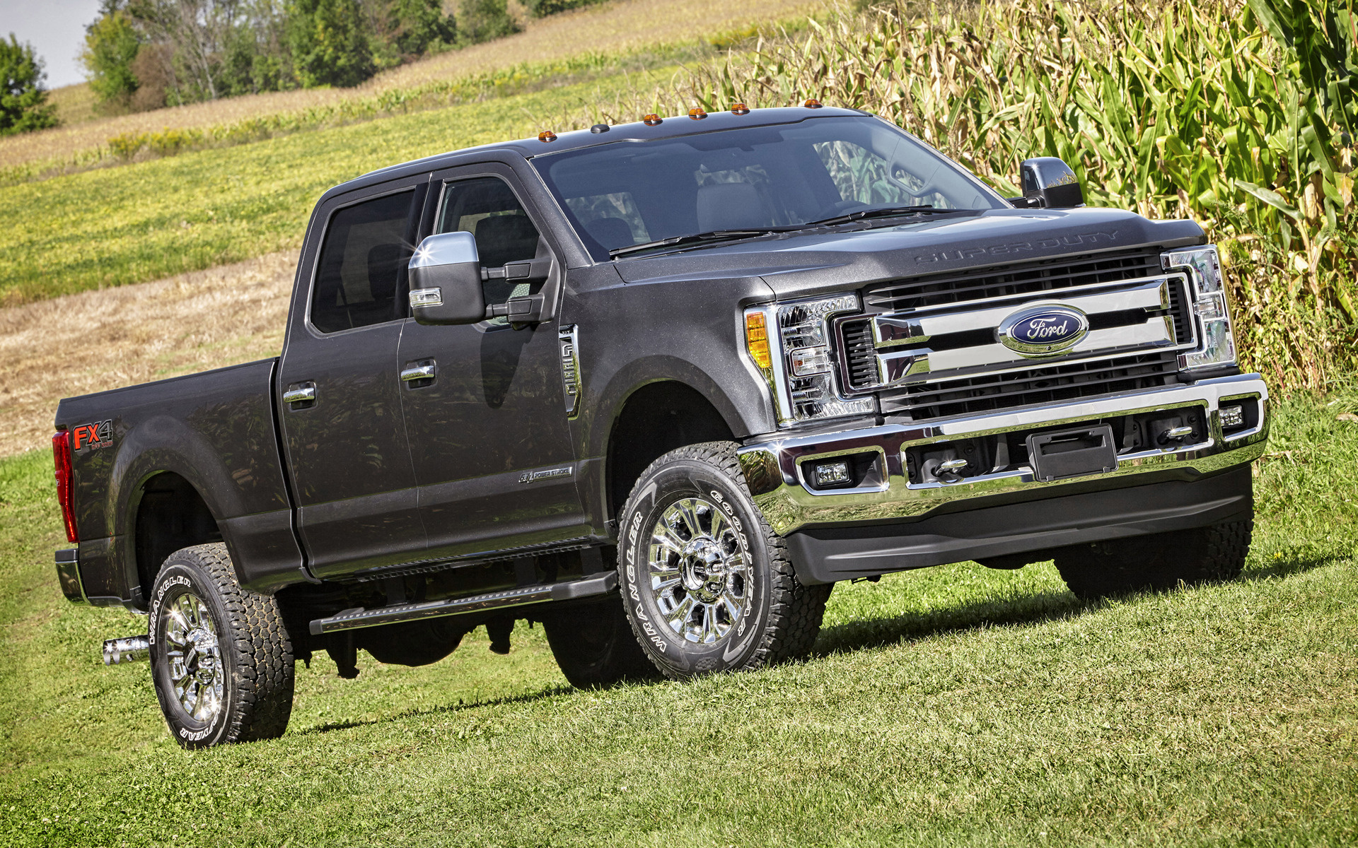 Ford F-250 XLT FX4 Crew Cab (2017) Wallpapers and HD ...