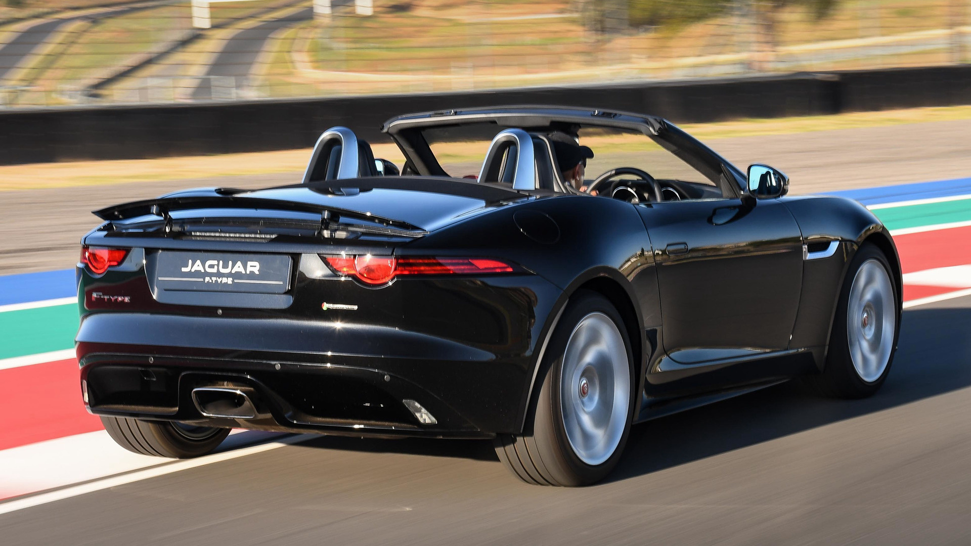 jaguar f type convertible r dynamic 2017 za wallpapers and hd images car pixel. Black Bedroom Furniture Sets. Home Design Ideas