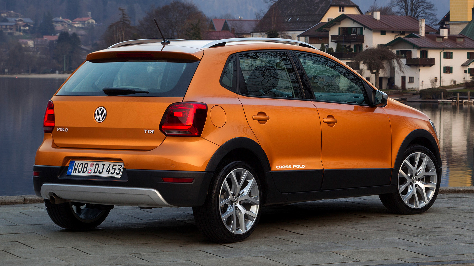 volkswagen cross polo 2014 wallpapers and hd images. Black Bedroom Furniture Sets. Home Design Ideas