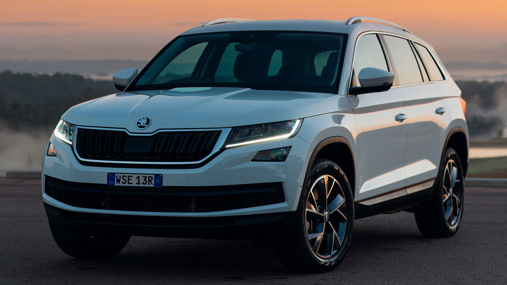skoda kodiaq 2017 au wallpapers and hd images car pixel. Black Bedroom Furniture Sets. Home Design Ideas