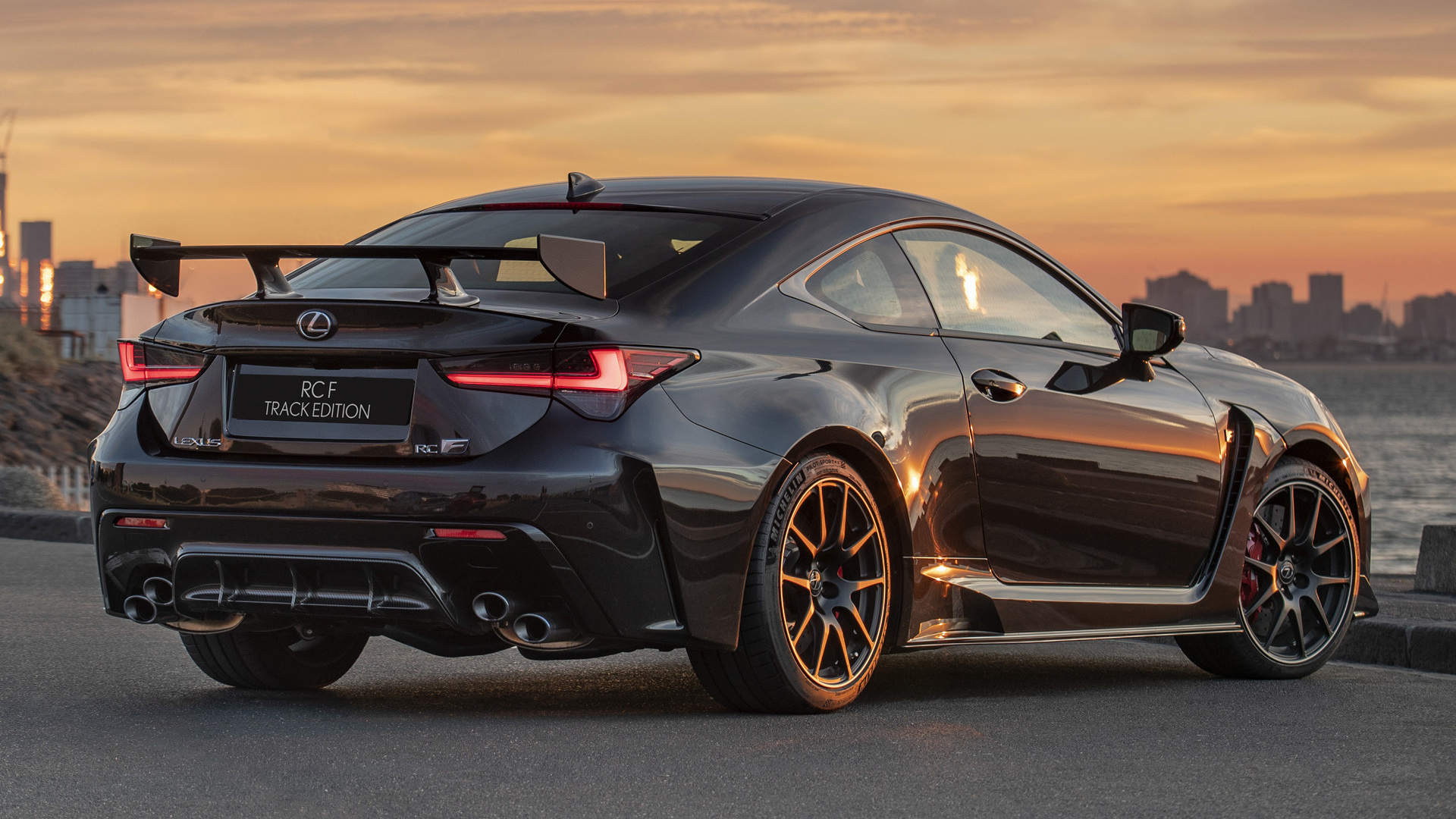 2019 Lexus RC F Track Edition (AU) - Wallpapers and HD ...
