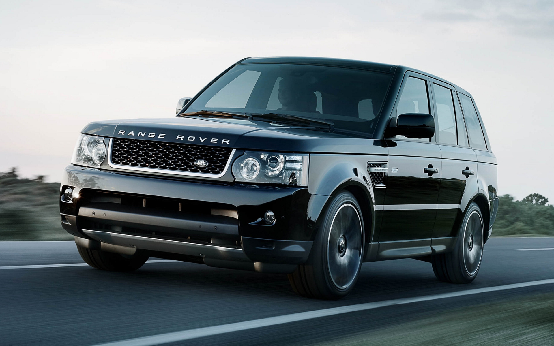 Range Rover Sport Black Wallpaper: 2012 Range Rover Sport Black Edition