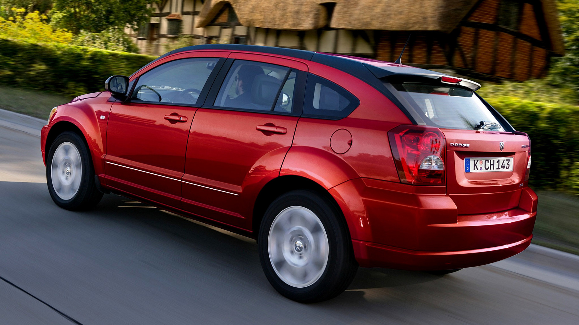 dodge caliber sxt 2009 eu wallpapers and hd images car. Black Bedroom Furniture Sets. Home Design Ideas