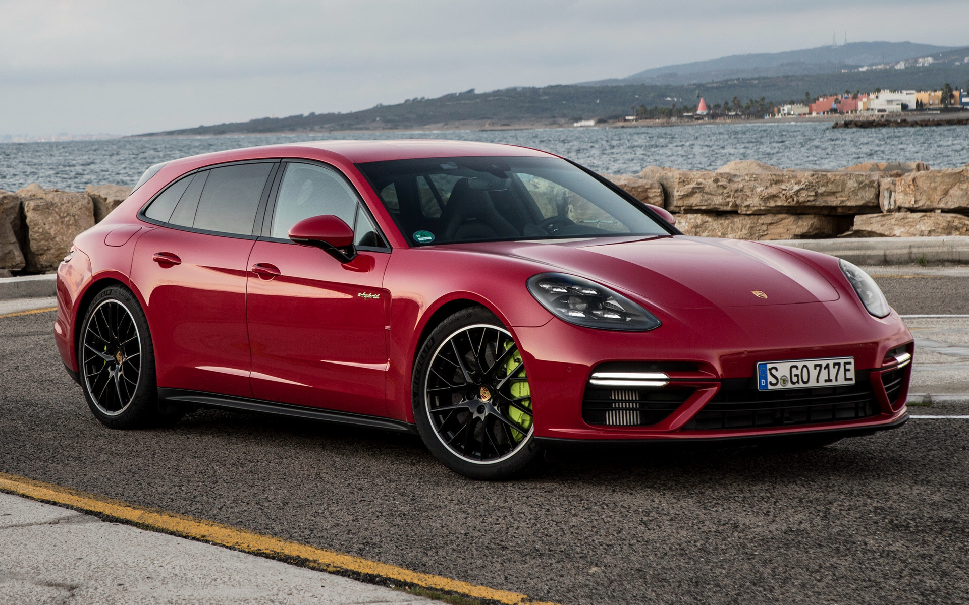 2017 Porsche Panamera Turbo S E Hybrid Sport Turismo Wallpapers And Hd Images Car Pixel
