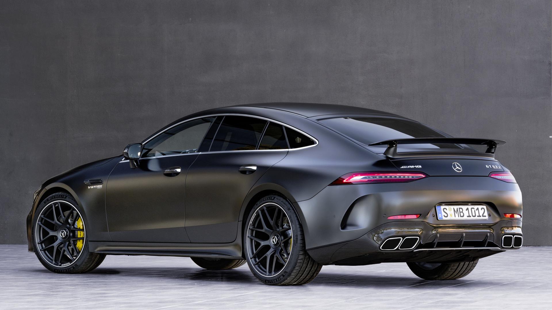 2018 Mercedes-AMG GT 63 S 4-door - Wallpapers and HD ...