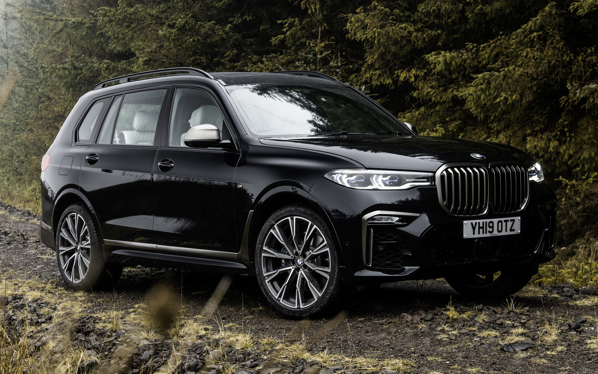 2019 BMW X7 M50d (UK) - Wallpapers and HD Images   Car Pixel