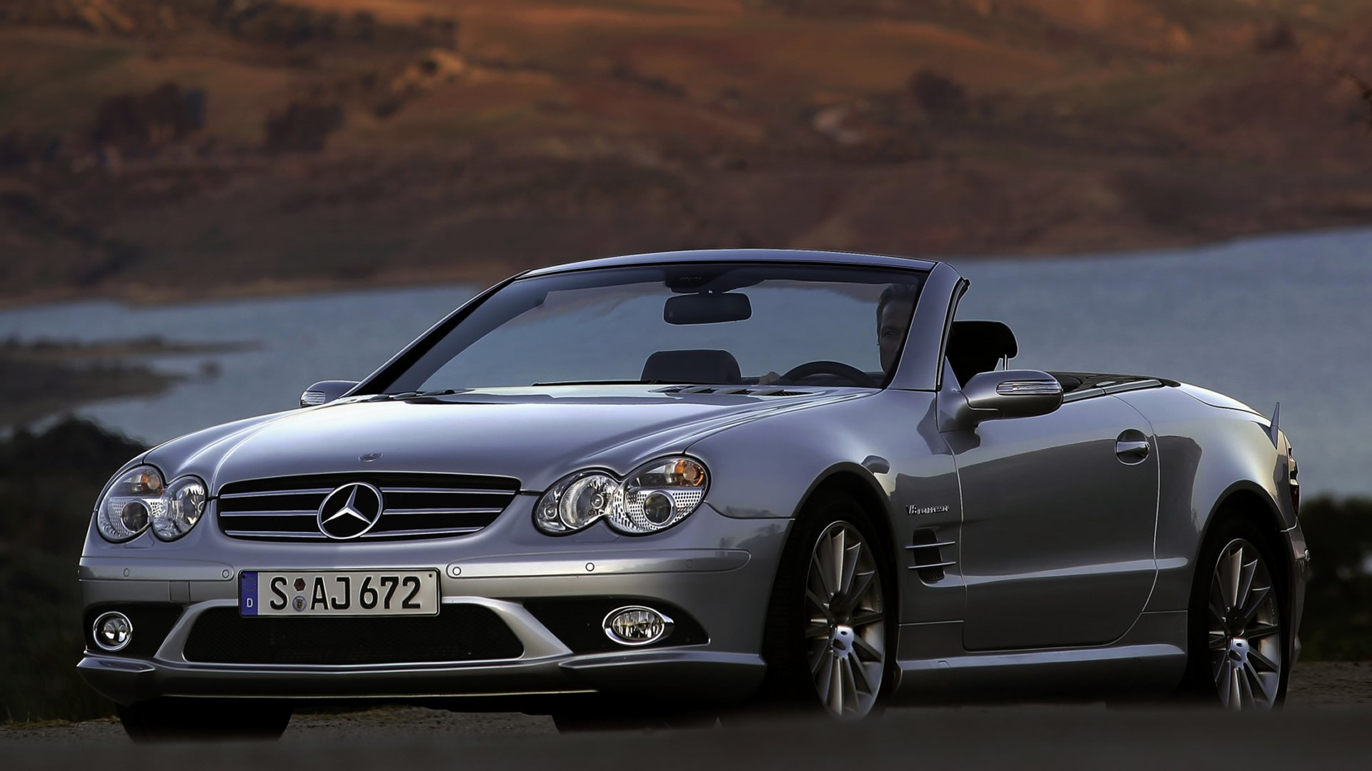 2006 mercedes benz sl 55 amg wallpapers and hd images car pixel. Black Bedroom Furniture Sets. Home Design Ideas