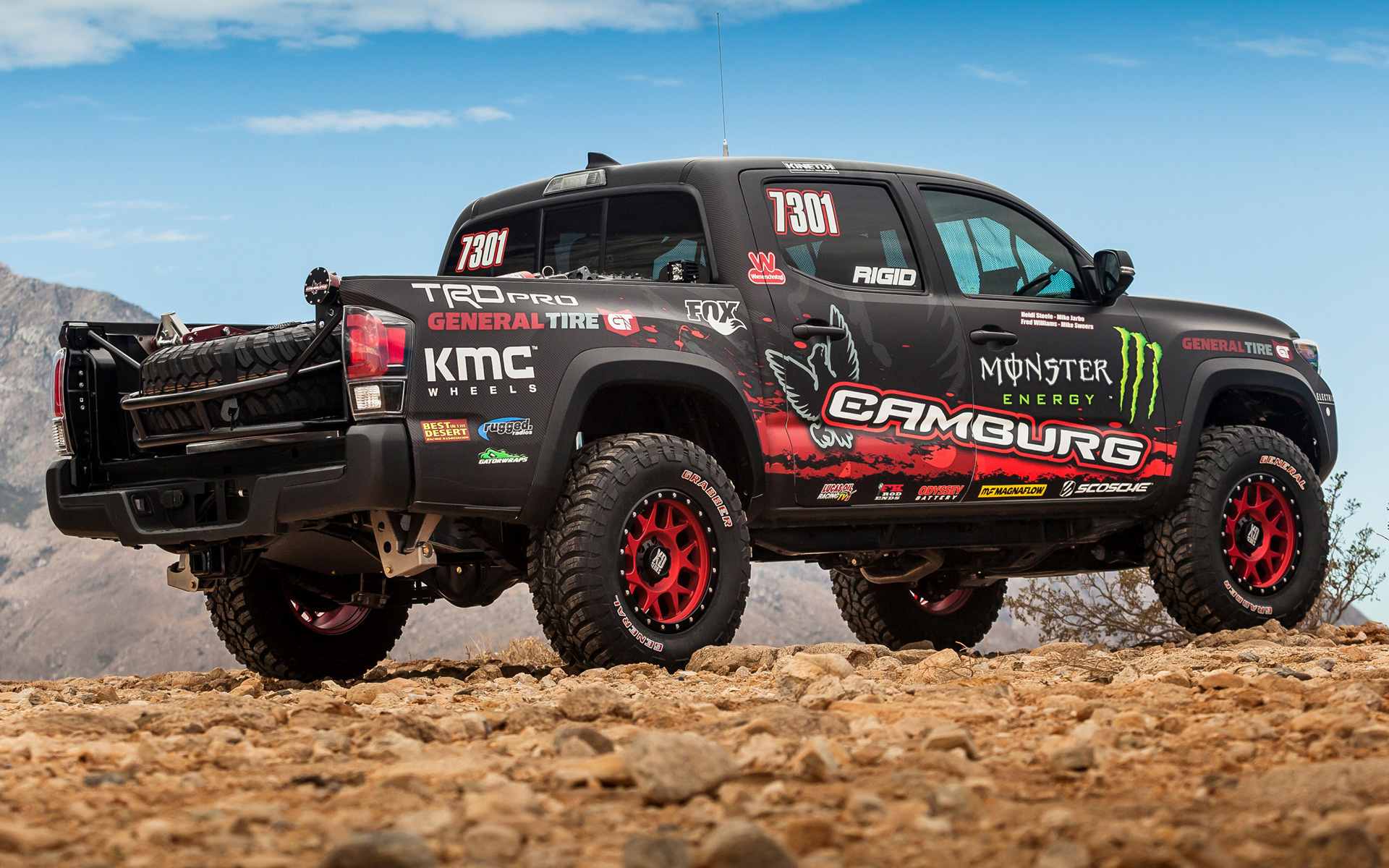2016 Toyota Tacoma Access Cab >> 2016 Toyota Tacoma TRD Pro Race Truck - Wallpapers and HD ...