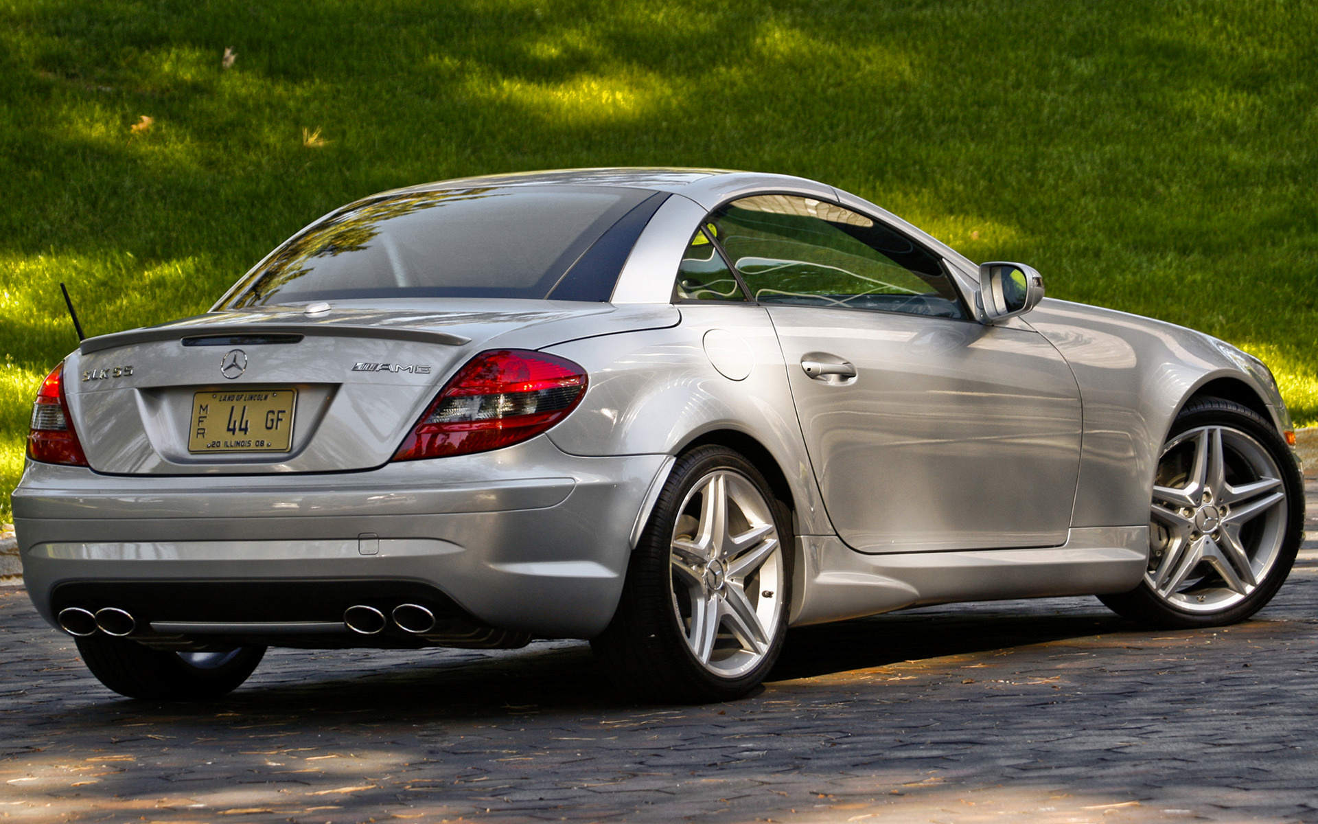 Mercedes benz slk 55 amg 2008 us wallpapers and hd for 2008 mercedes benz slk55 amg