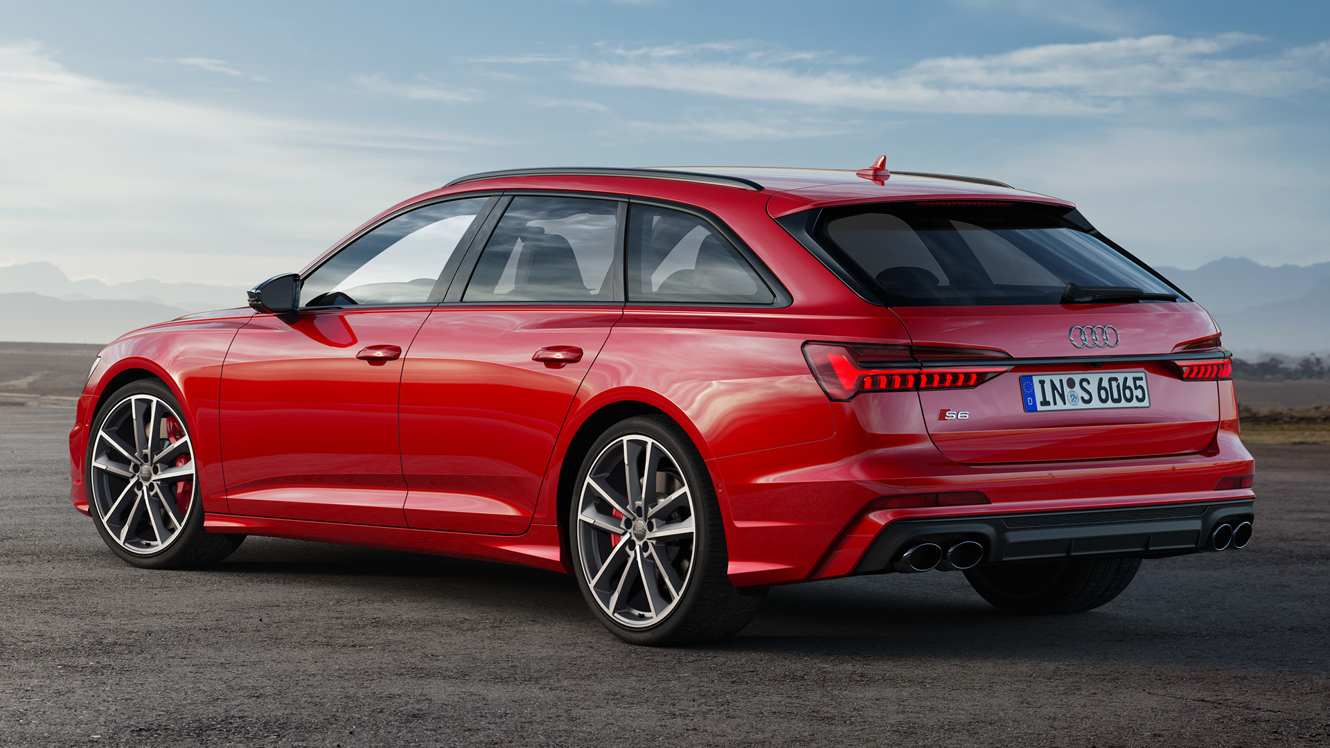 2019 Audi S6 Avant Black Optic Package - Wallpapers and HD Images