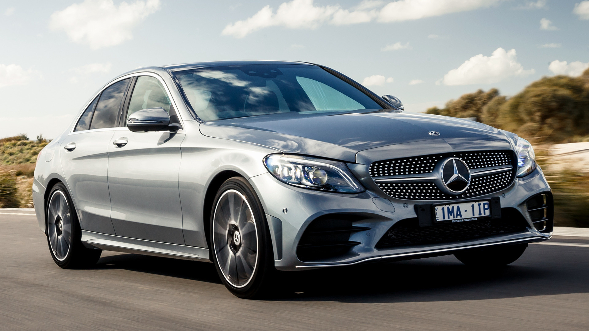2018 Mercedes-Benz C-Class AMG Line (AU) - Wallpapers and ...