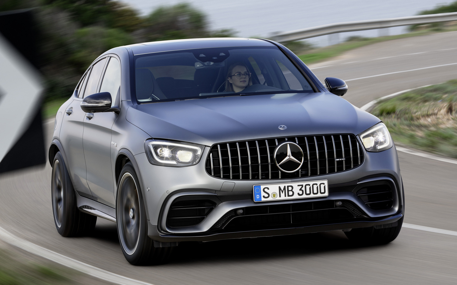 2019 Mercedes Amg Glc 63 S Coupe Wallpapers And Hd Images Car Pixel