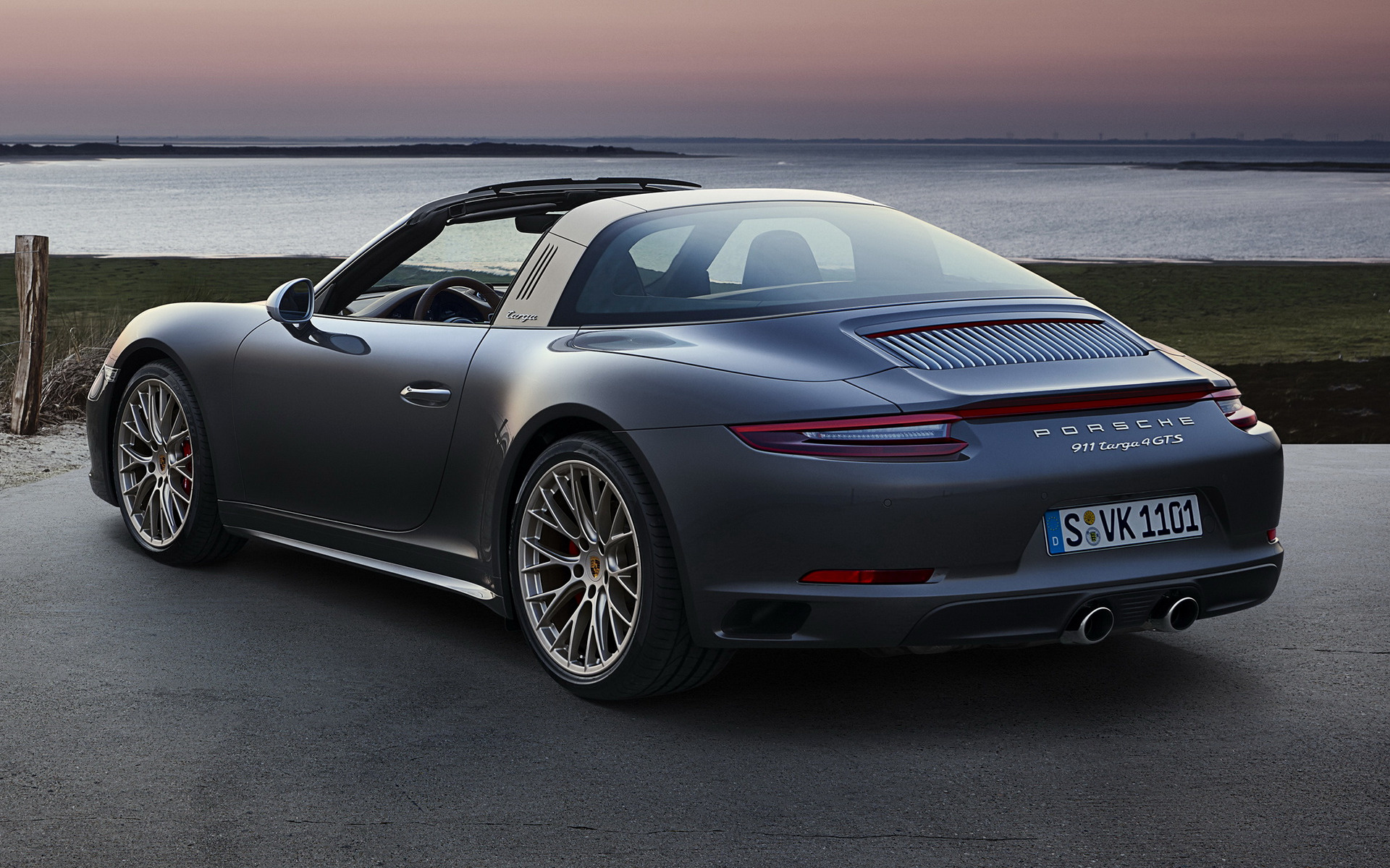 2018 Porsche 911 Targa Gts Exclusive Manufaktur Edition Wallpapers And Hd Images Car Pixel