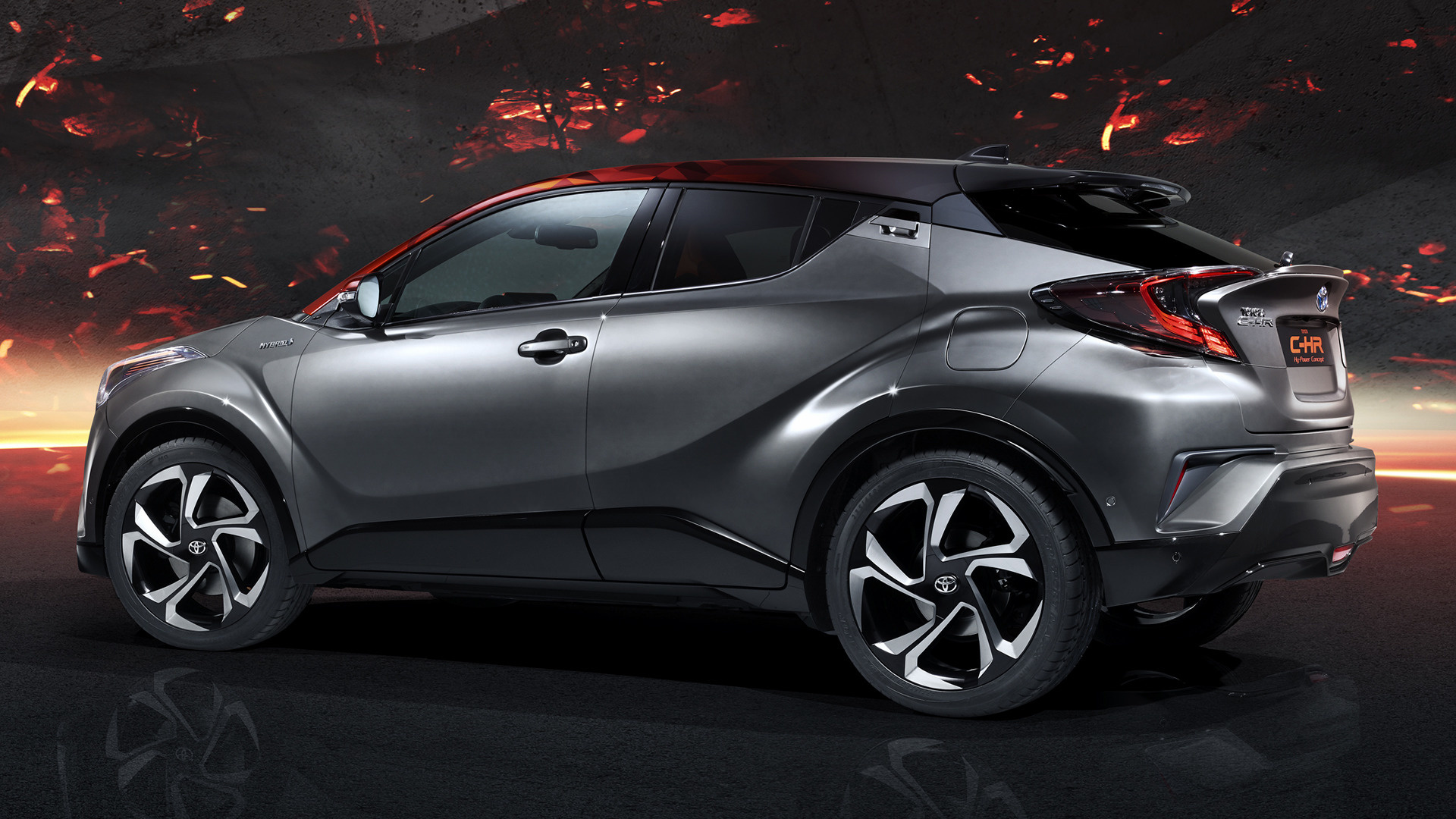 2017 Toyota C-HR Hy-Power Concept - Wallpapers and HD Images | Car Pixel