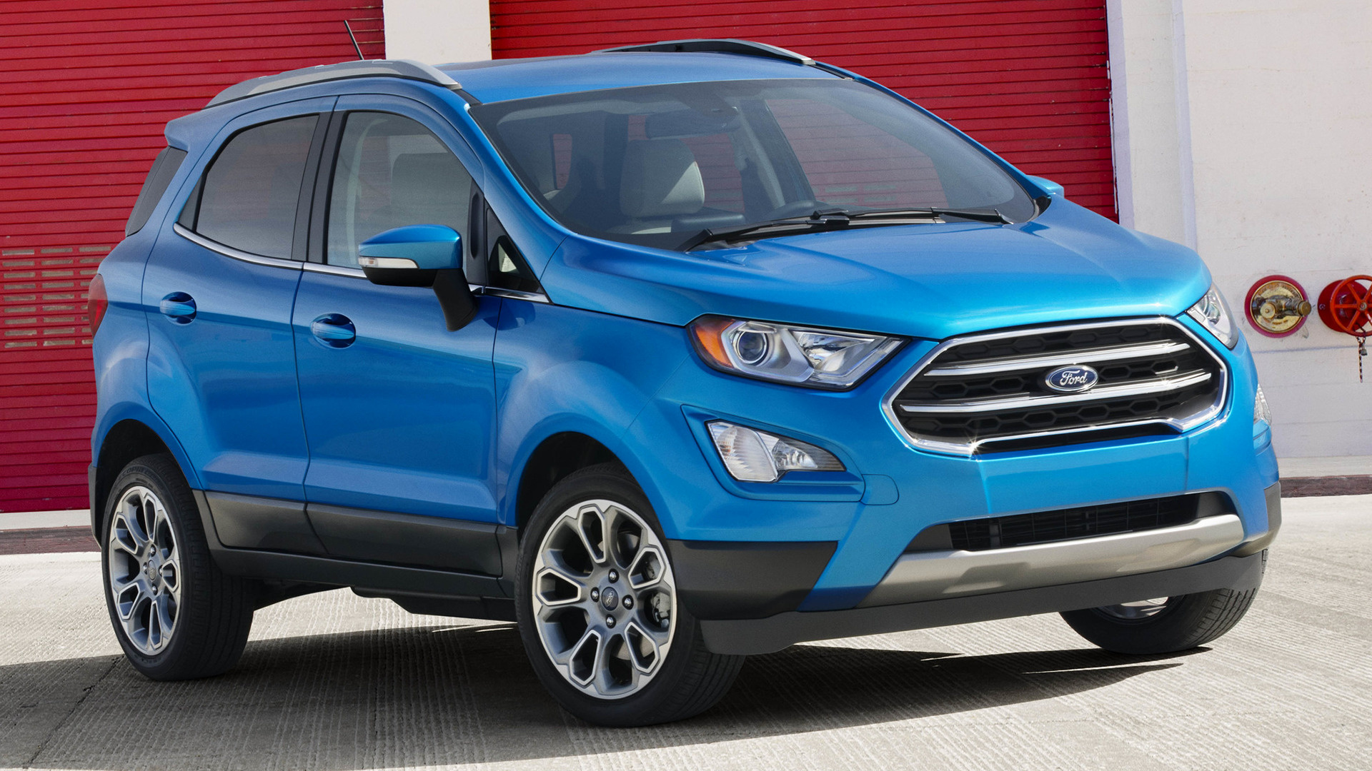 2018 ford ecosport titanium us wallpapers and hd. Black Bedroom Furniture Sets. Home Design Ideas