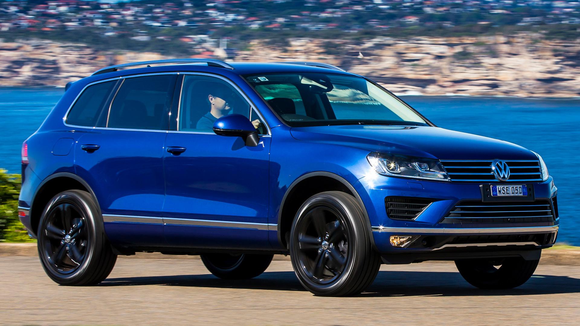 2016 Volkswagen Touareg Wolfsburg Edition (AU ...