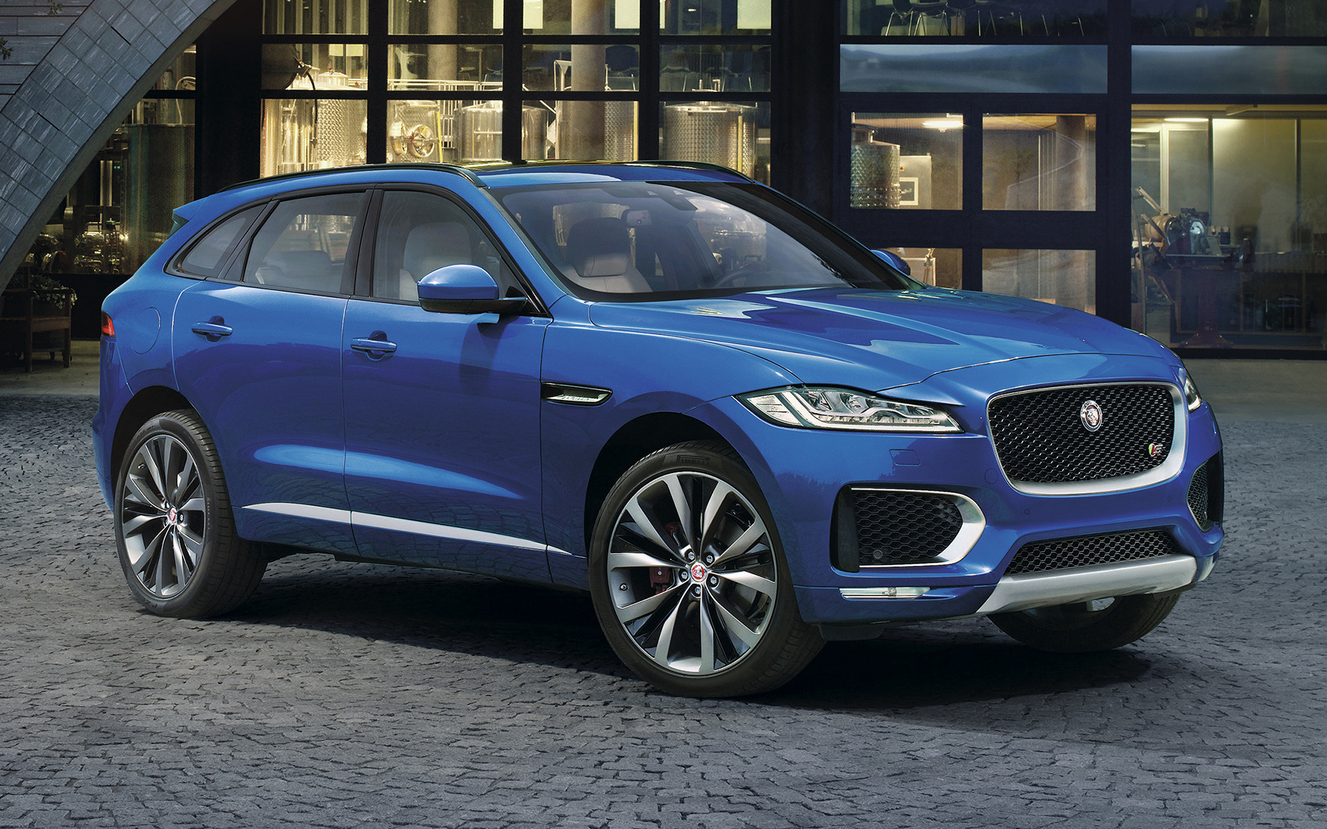 2016 Jaguar F Pace S Wallpapers And Hd Images Car Pixel