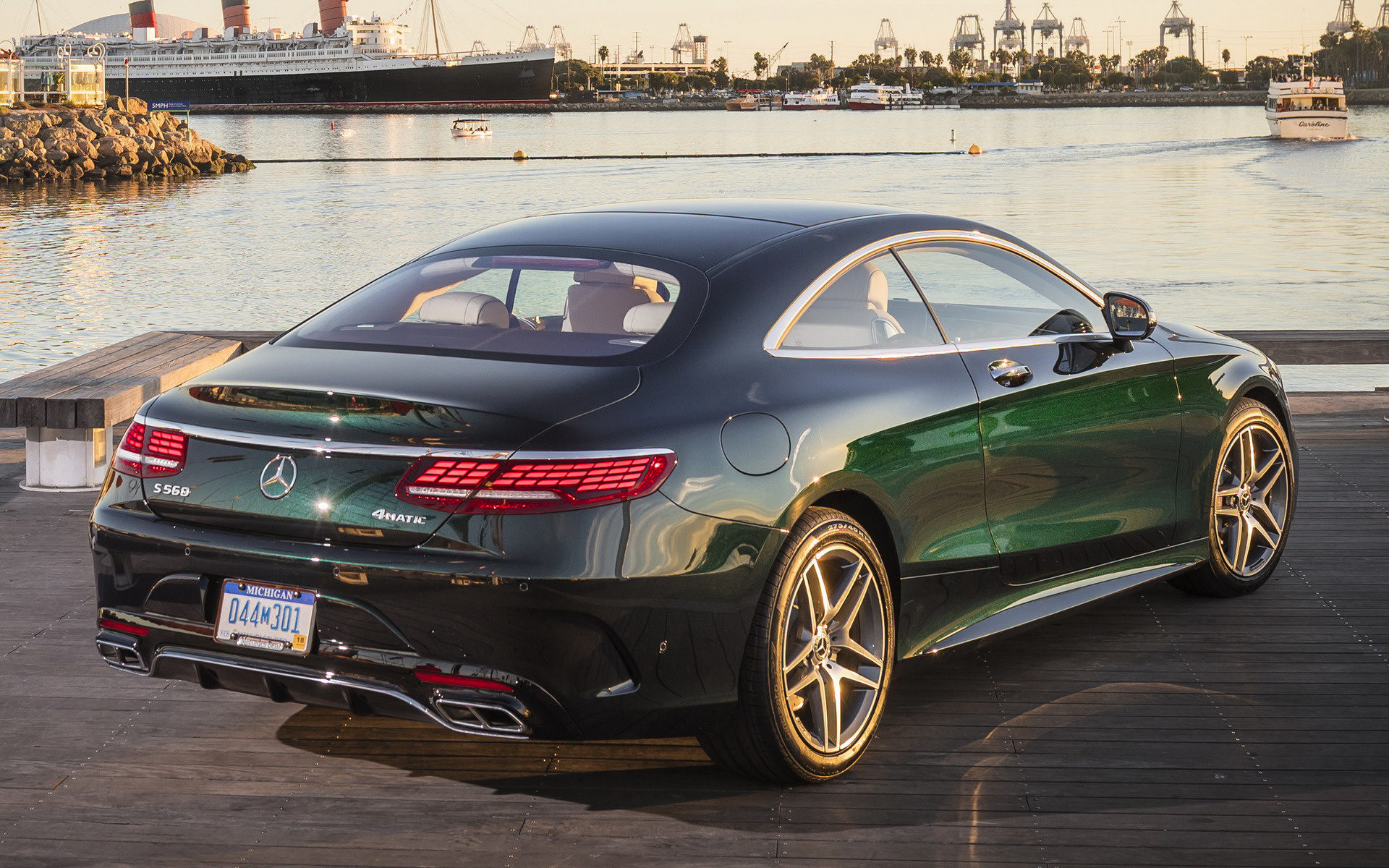 2018 Mercedes Benz S Class Coupe Amg Styling Us Wallpapers And