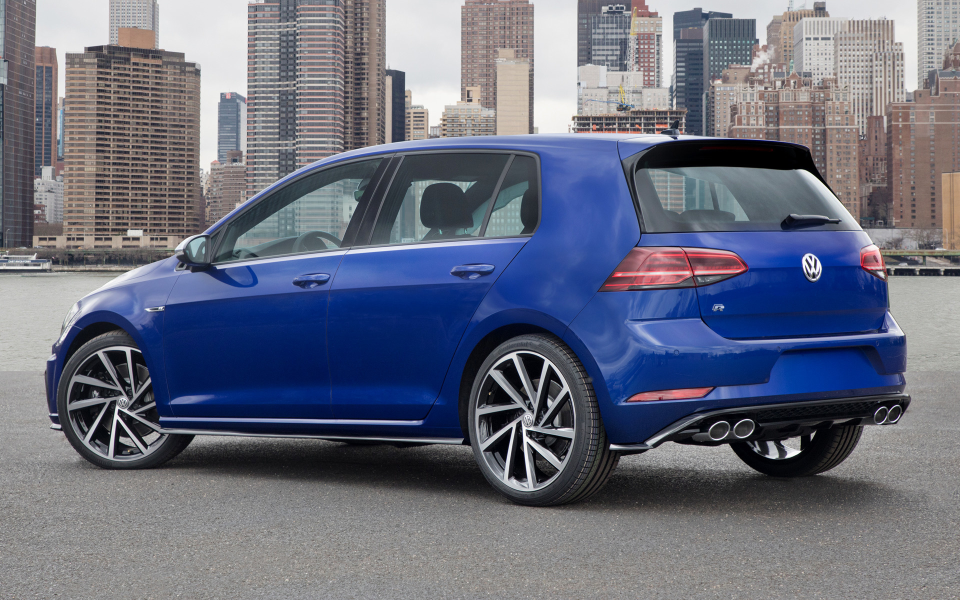 Volkswagen Golf R 5 Door 2018 US Wallpapers And HD Images